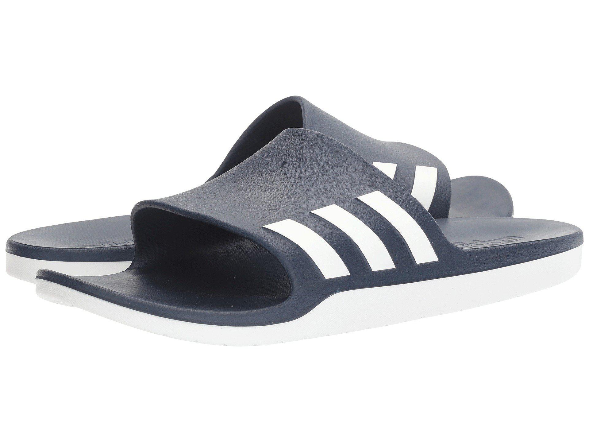2f91e258bca938 Lyst - adidas Originals Adidas Aqualette Cf Athletic Sandal in Blue ...