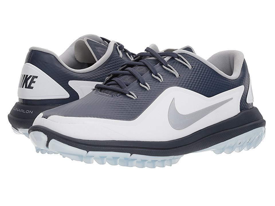 new arrival a7662 8c0d2 Nike. Men s Lunar Control Vapor 2 (thunder Blue reflective Silver white pure  Platinum) Golf Shoes
