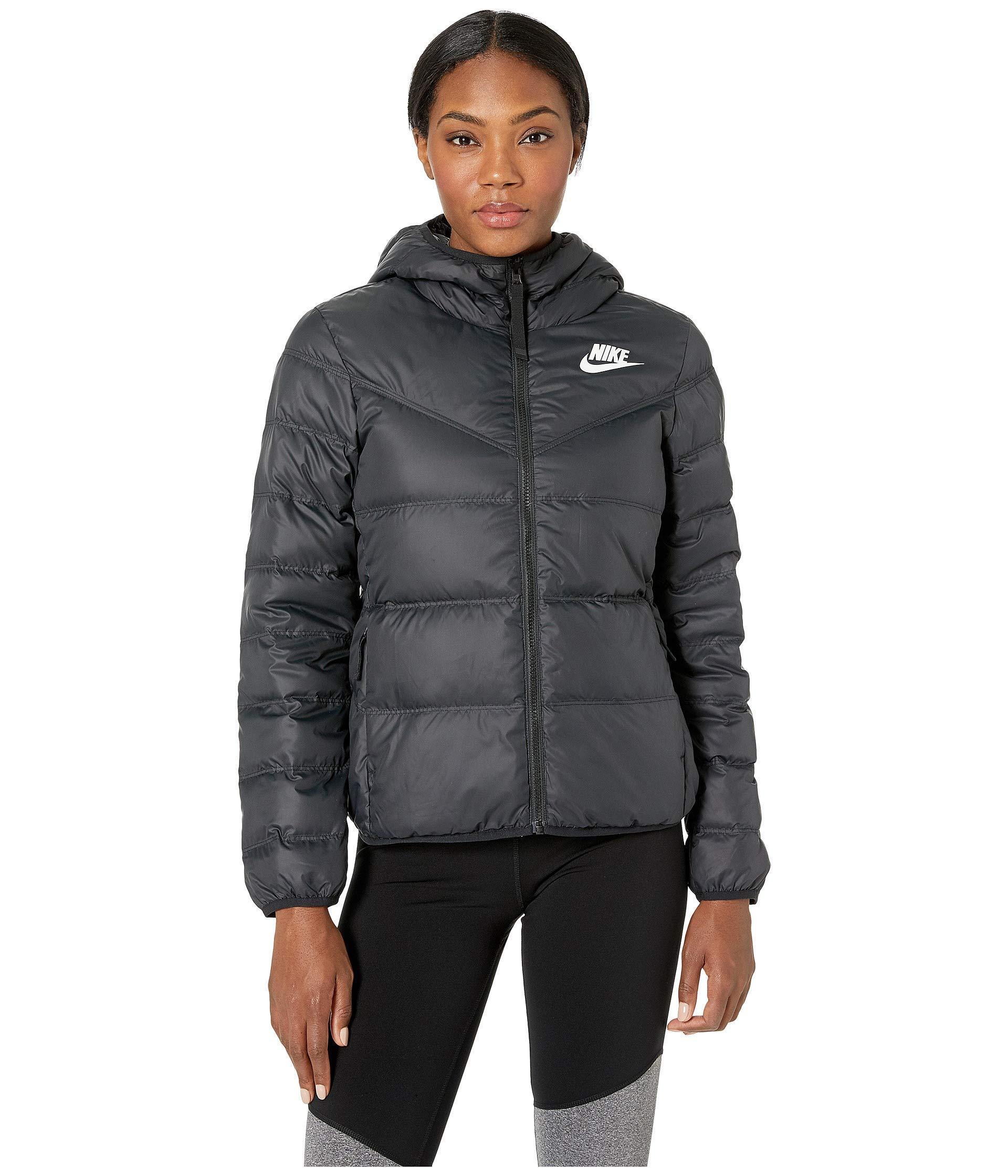 ec26509e3309 Nike - Black Sportswear Windrunner Down Fill Jacket Reversible - Lyst. View  fullscreen