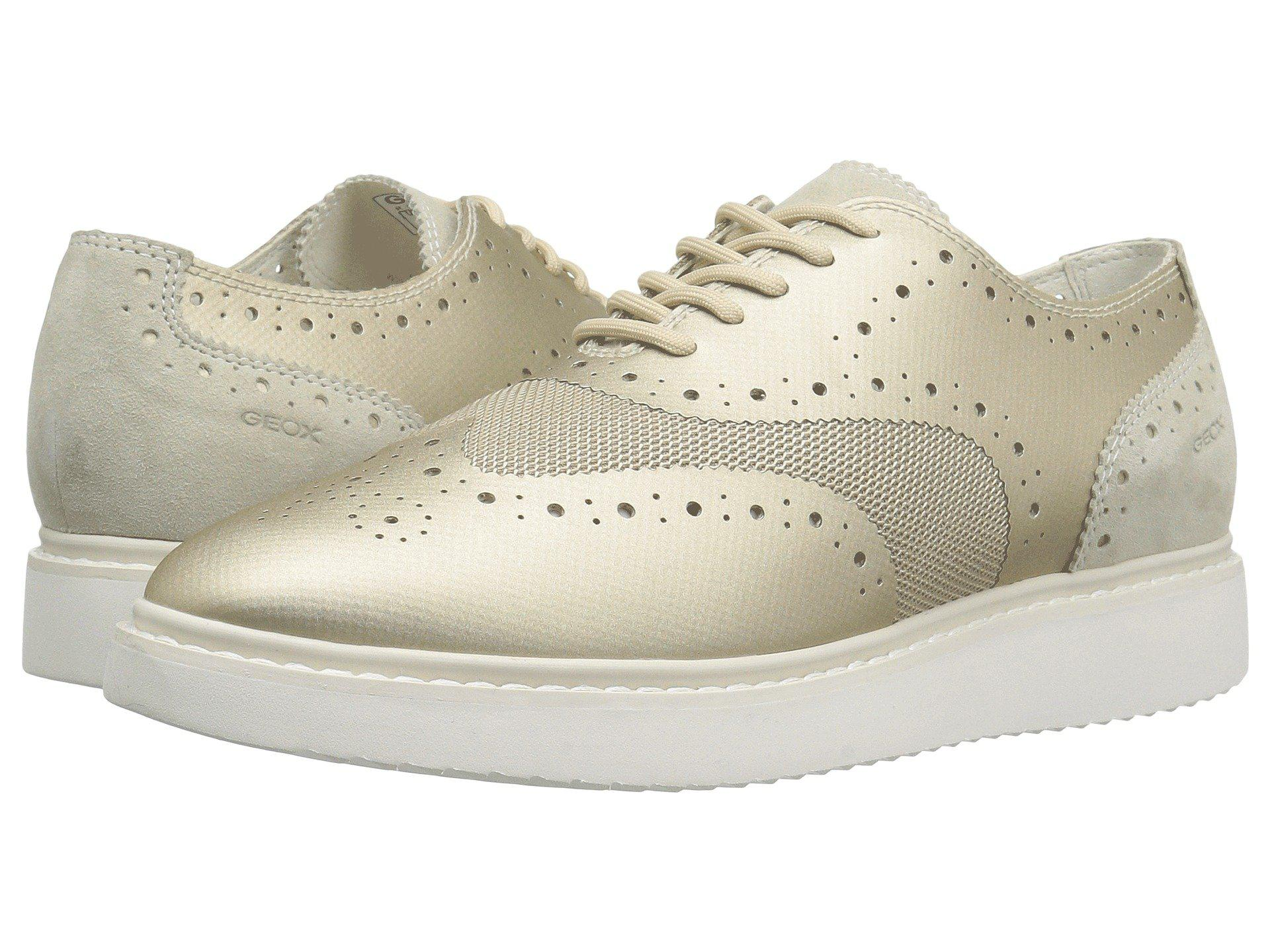 238bb2faf5a6 Lyst - Geox D Thymar Fashion Sneaker in Metallic - Save 50%