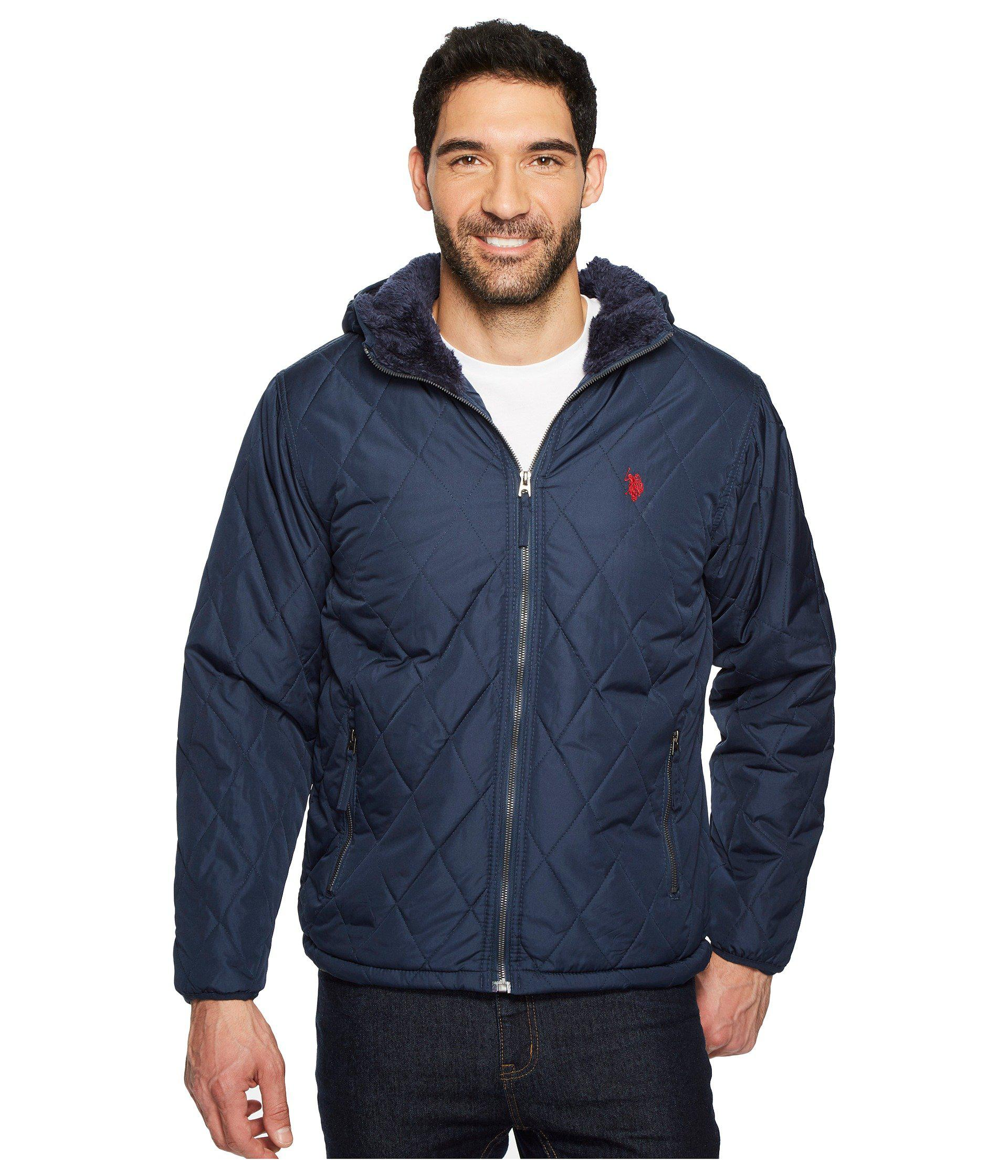 Mens Hoody Padded Jacket U.S.Polo Association Outlet Discounts Supply TkVbQGxH5r