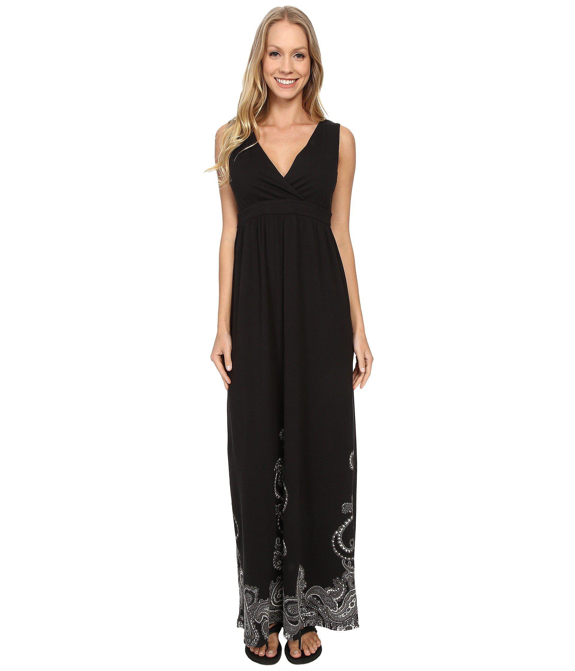 d48b4f92776 Lyst - Aventura Clothing Ashby Maxi Dress in Black