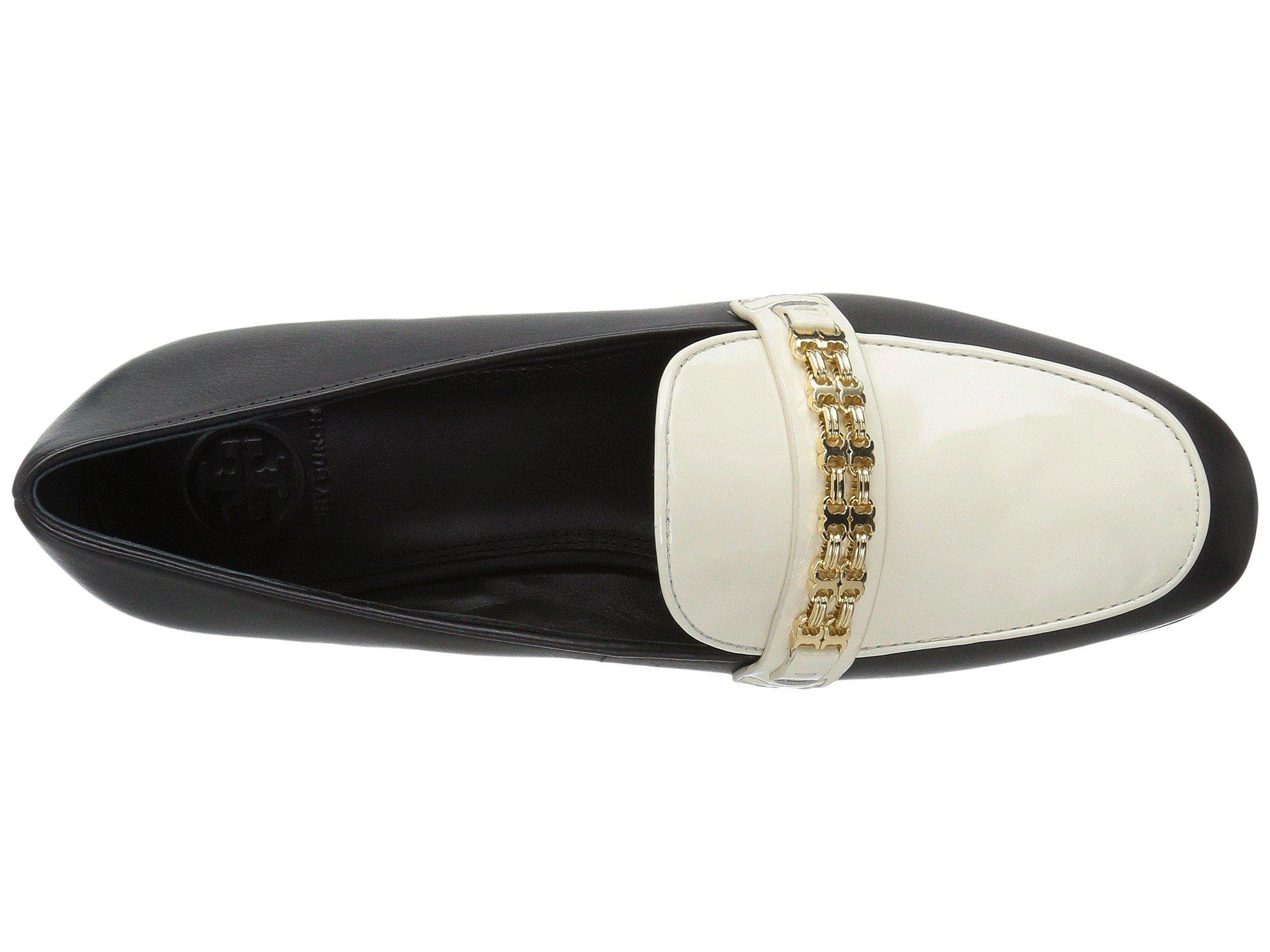 ddd28dc6c Lyst - Tory Burch Gemini Link Loafer in Black - Save 53.53846153846154%