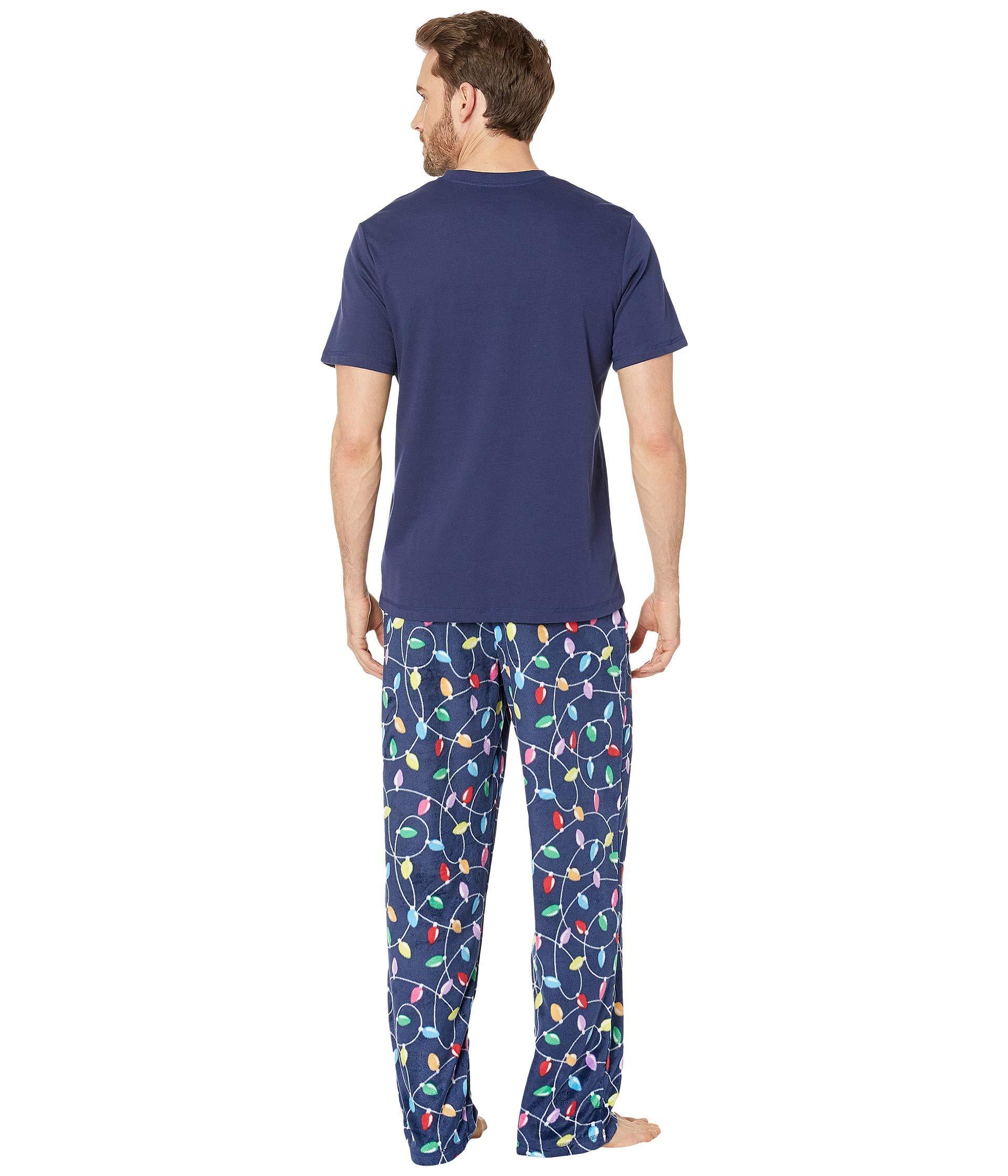 Karen Neuburger - Blue Get Lit Family Short Sleeve Pj Set for Men - Lyst.  View fullscreen b0e2a98be