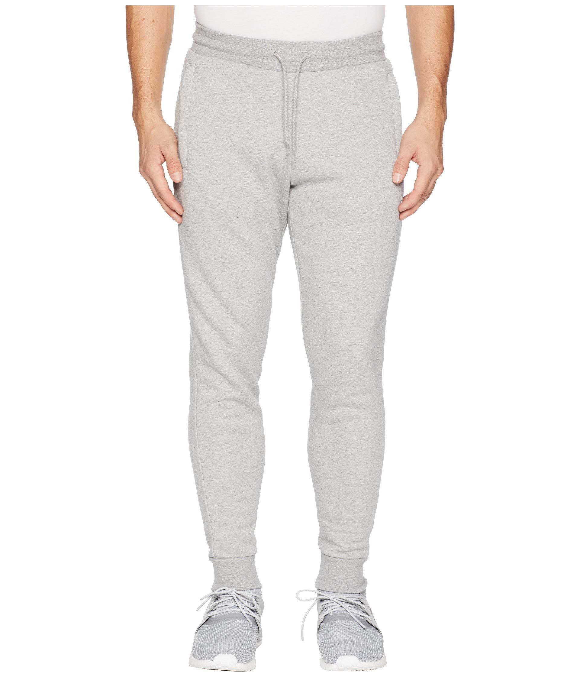 81458eeb0ea Lyst - Adidas Originals Slim Fleece Pants in Gray for Men