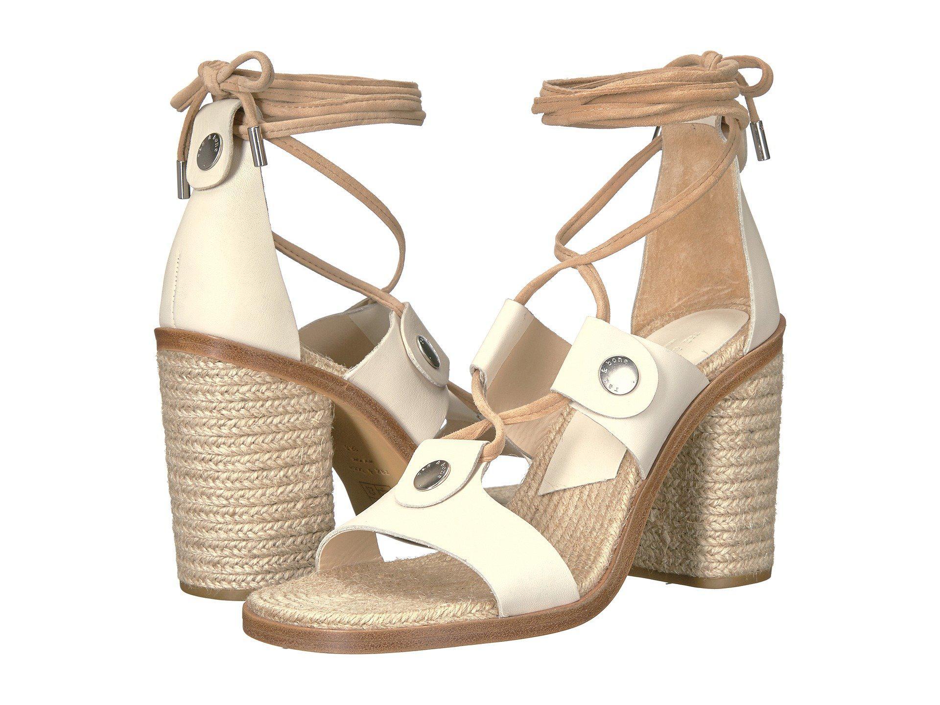 Sandals Rag & Bone Eden Ivory