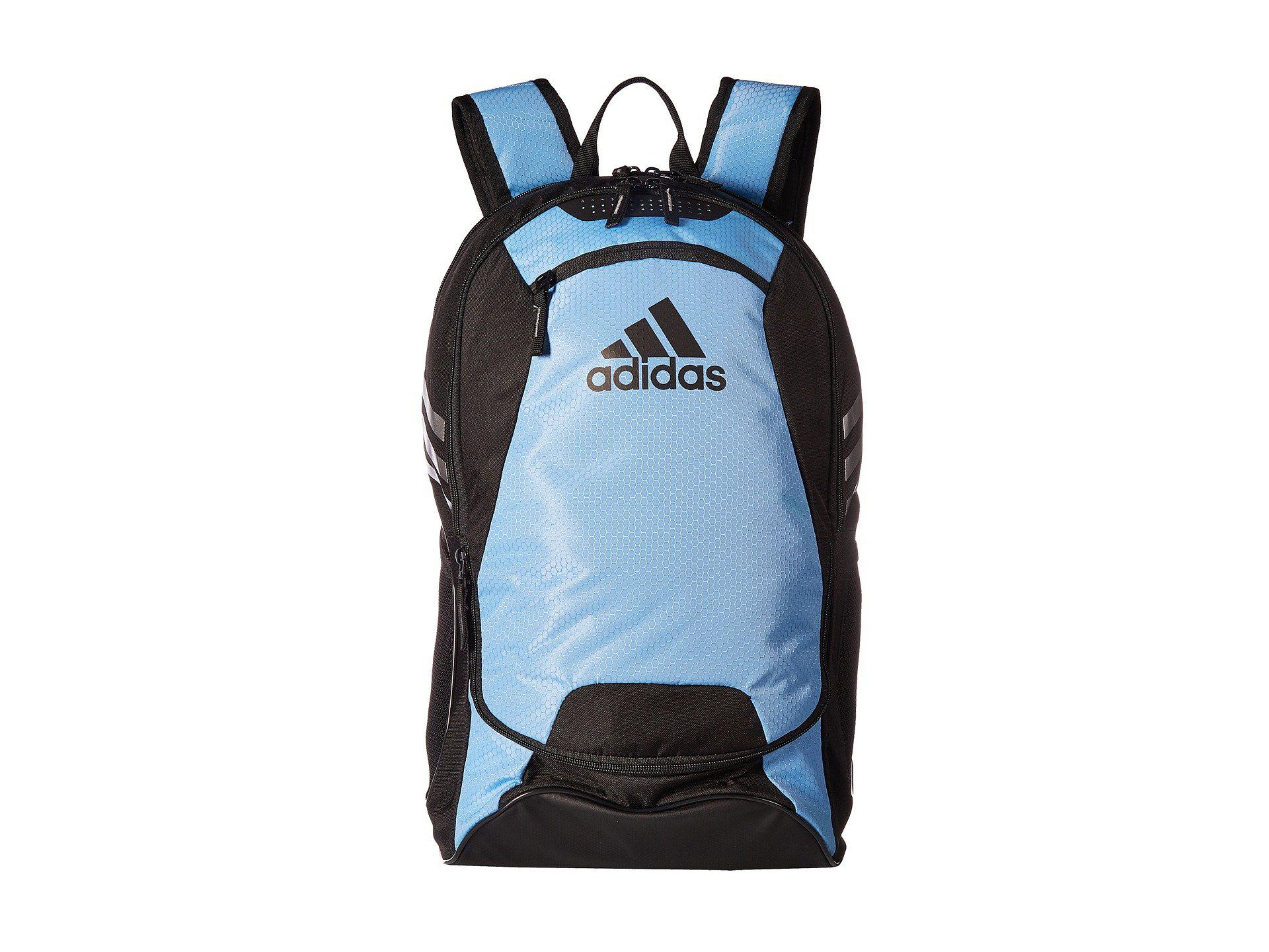 56ec4374c8 Adidas - Blue Stadium Ii Backpack - Lyst. View fullscreen