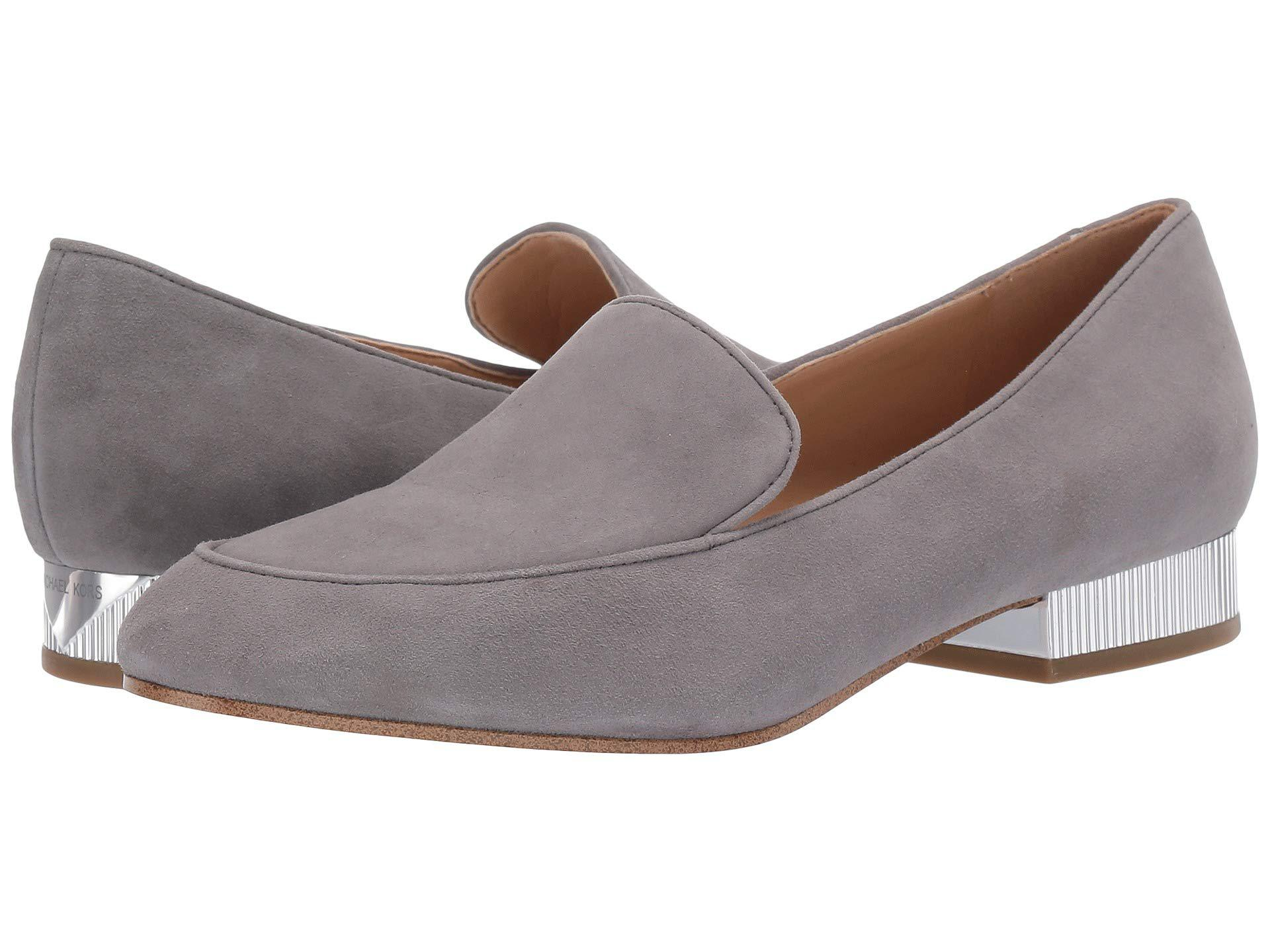 cfdaf26bfea Lyst - MICHAEL Michael Kors Valerie Slip-on in Gray