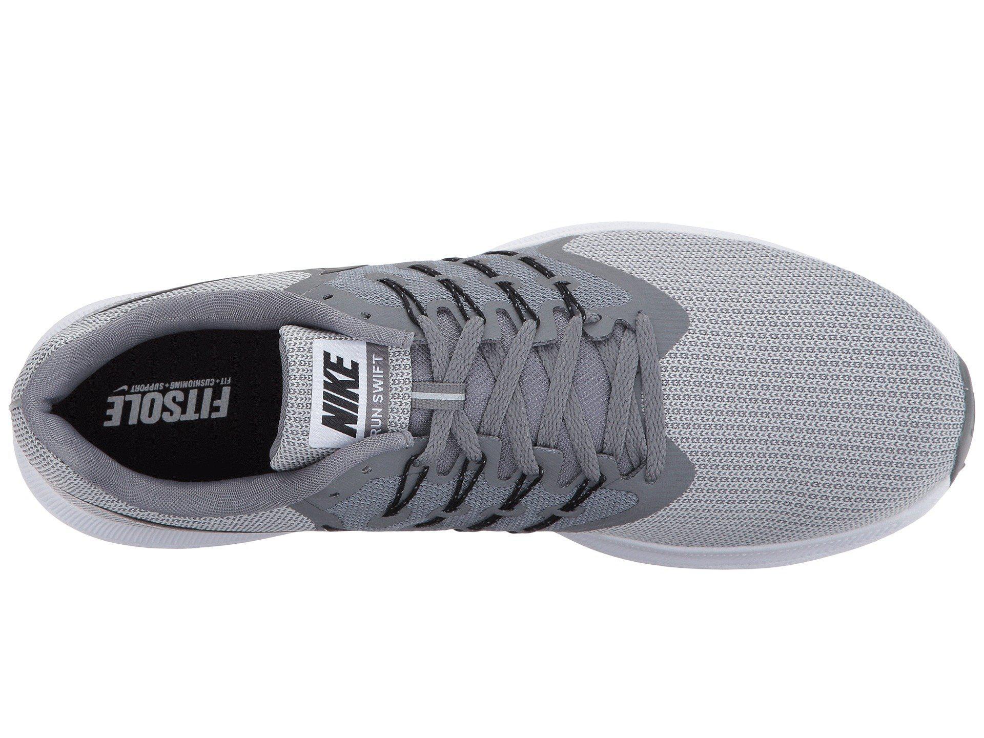 4830bea6d24786 Nike Run Swift Wolf Grey Green Men Running Shoes Sneakers Trainers