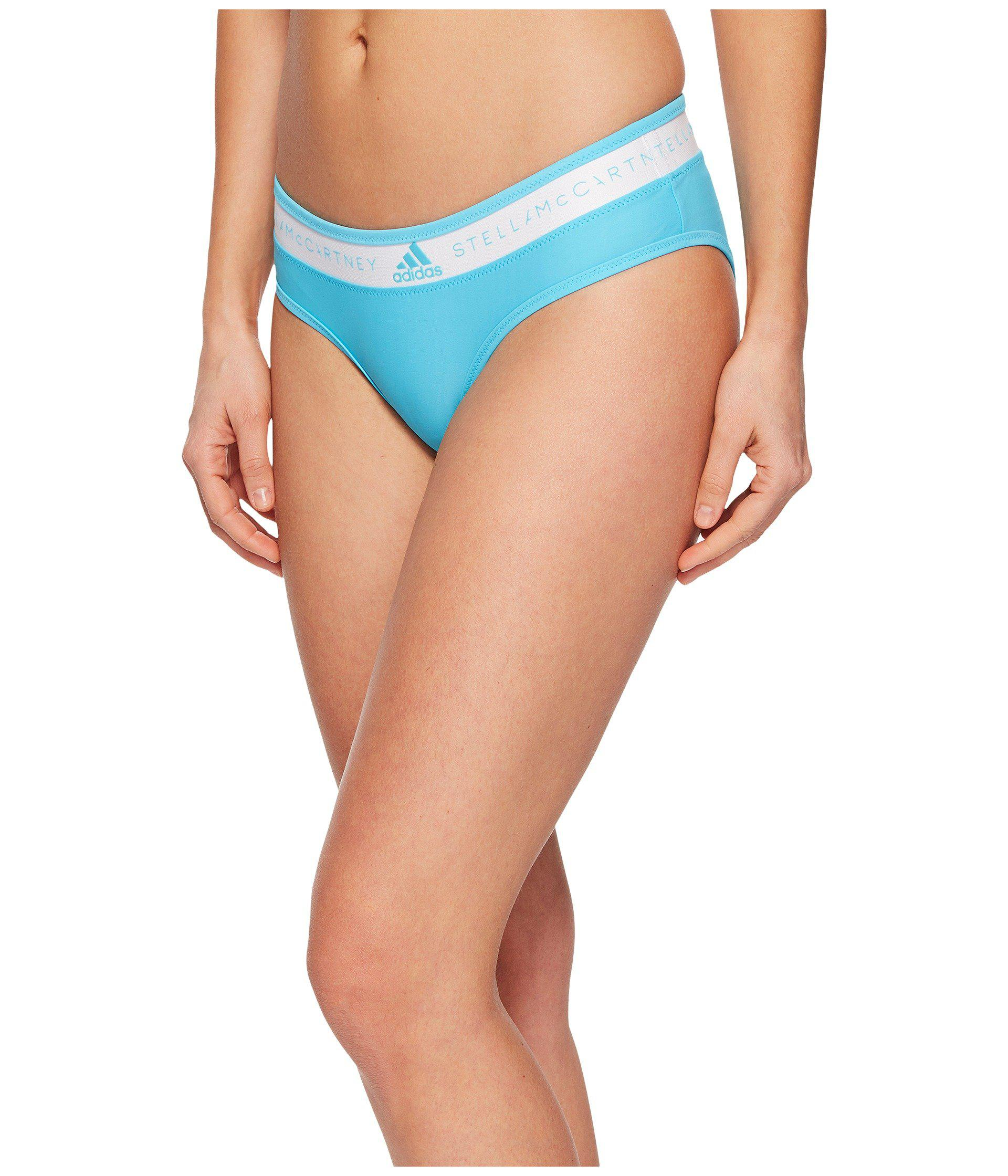 5a2bd4f0ee Lyst - adidas By Stella McCartney Bikini Swim Bottom Ce1774 in Blue - Save  57.5%