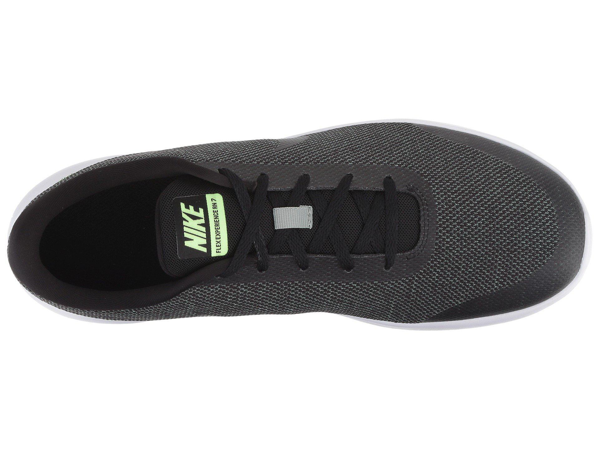 031d15808fb8f Nike - Black Flex Experience Rn 7 for Men - Lyst. View fullscreen