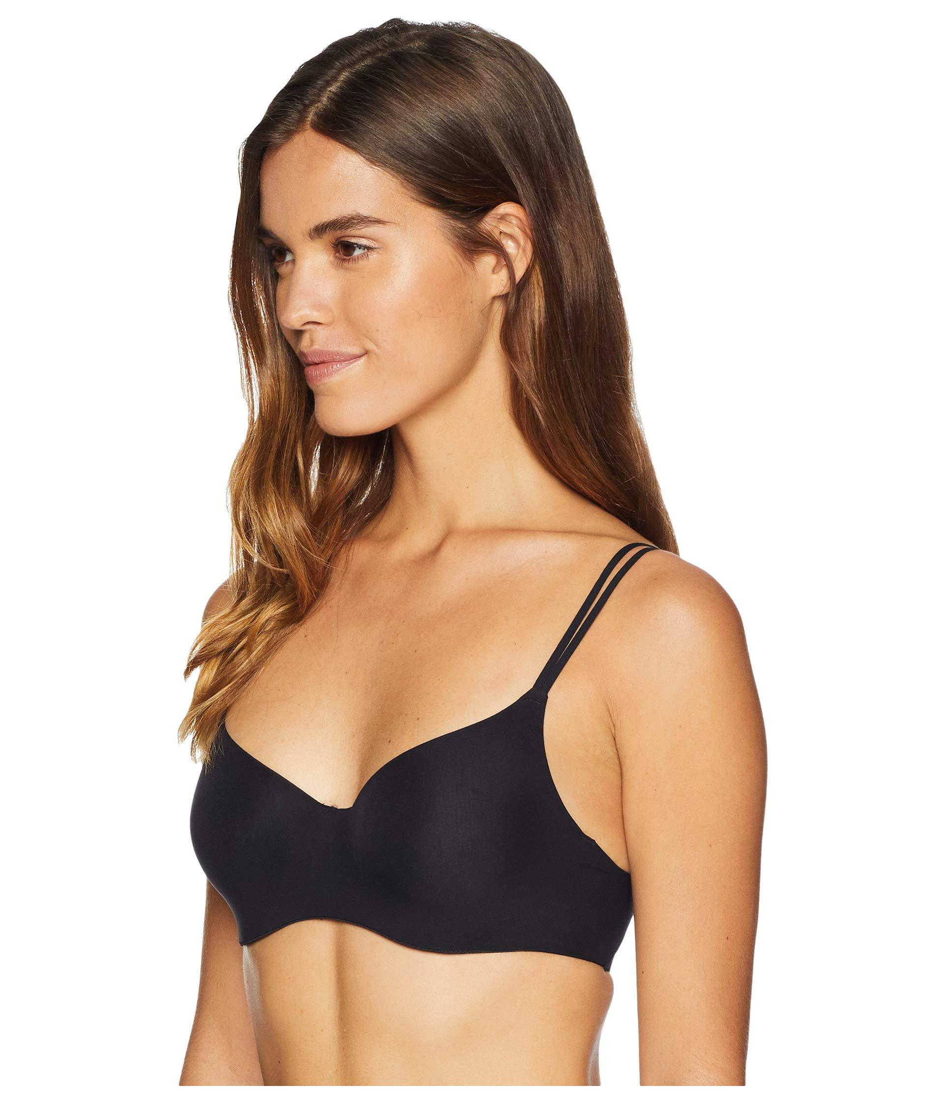 6211e5027ddf54 Lyst - Free People Zoey Underwire Bra in Black - Save 35%