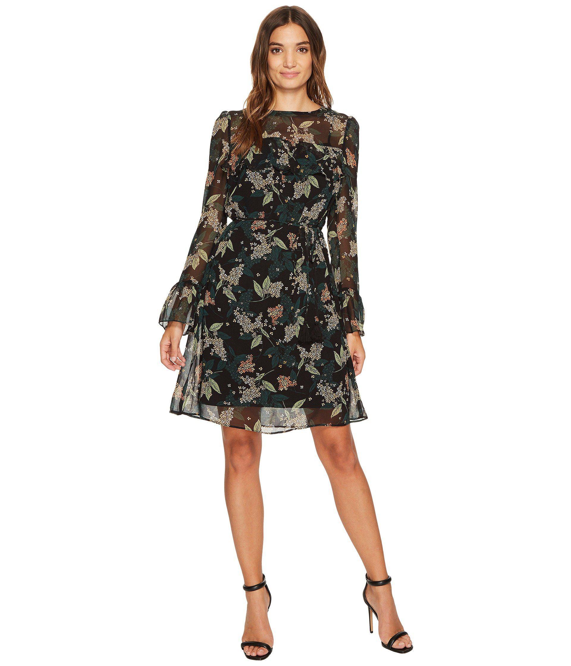 Sleeves Chiffon Dresses