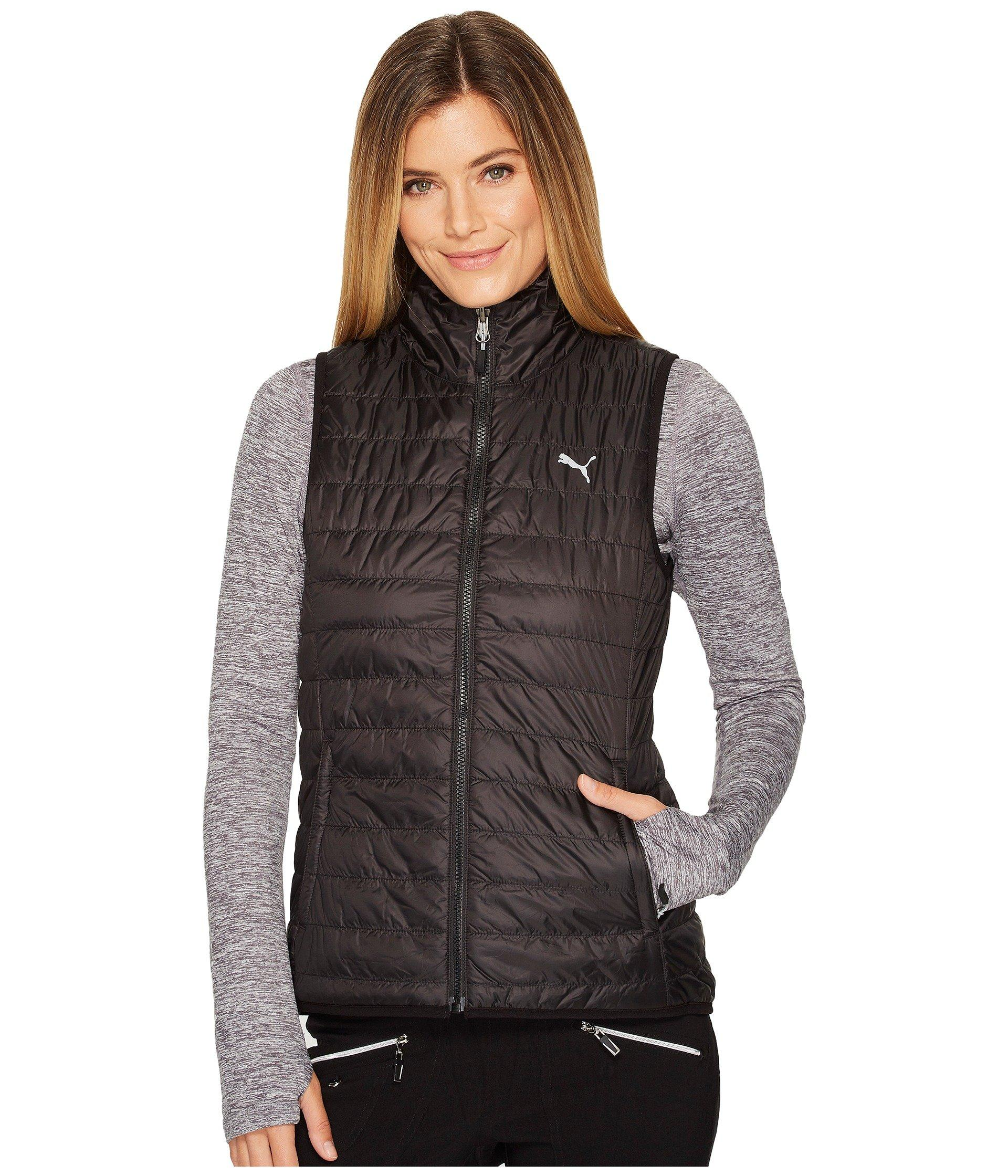40c20e9fd02c Lyst - PUMA Pwrwarm Reversible Vest in Black - Save 13%