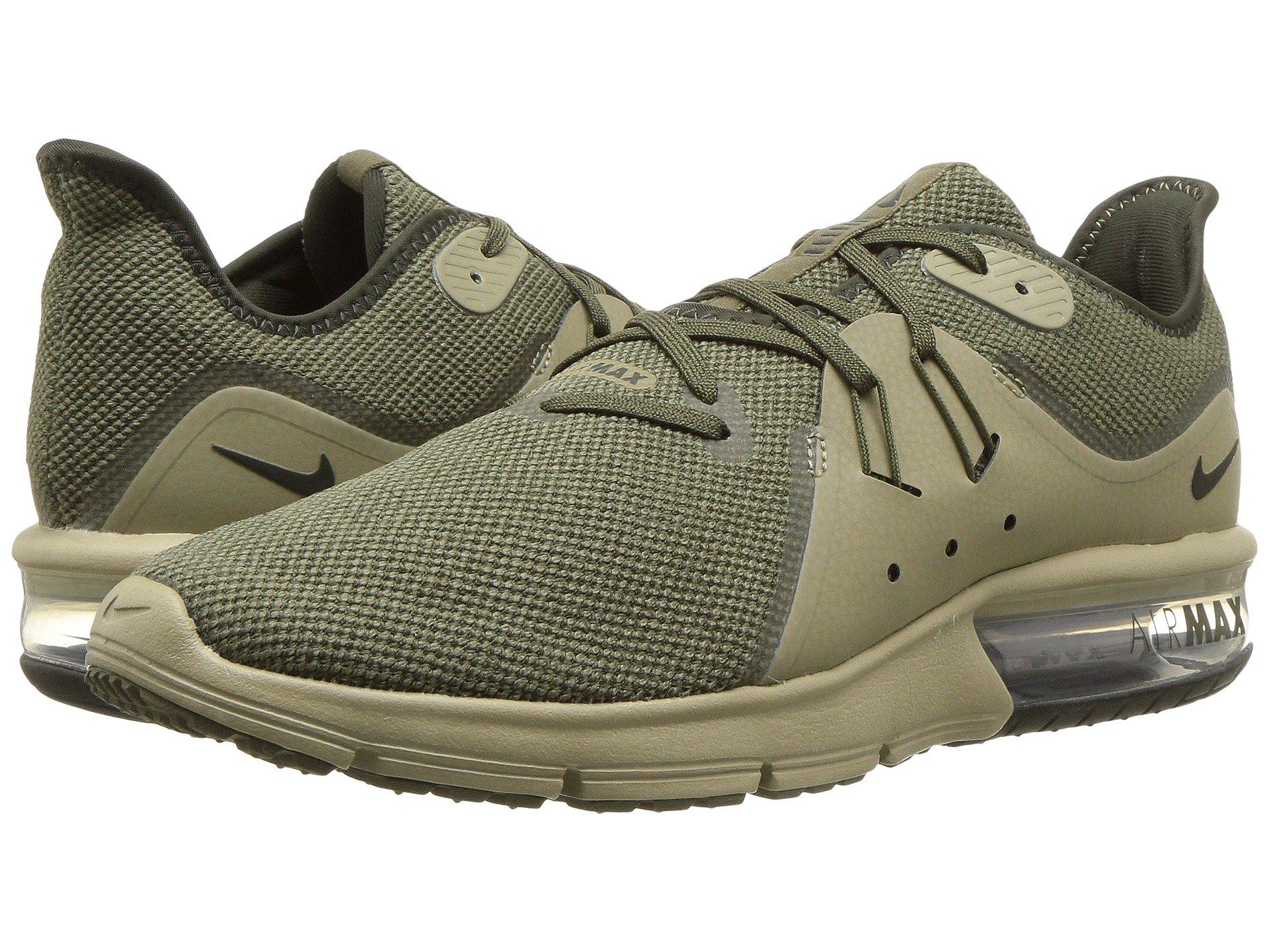 ac8066a8a40 Lyst - Nike Air Max Sequent 3 in Green for Men - Save 17%