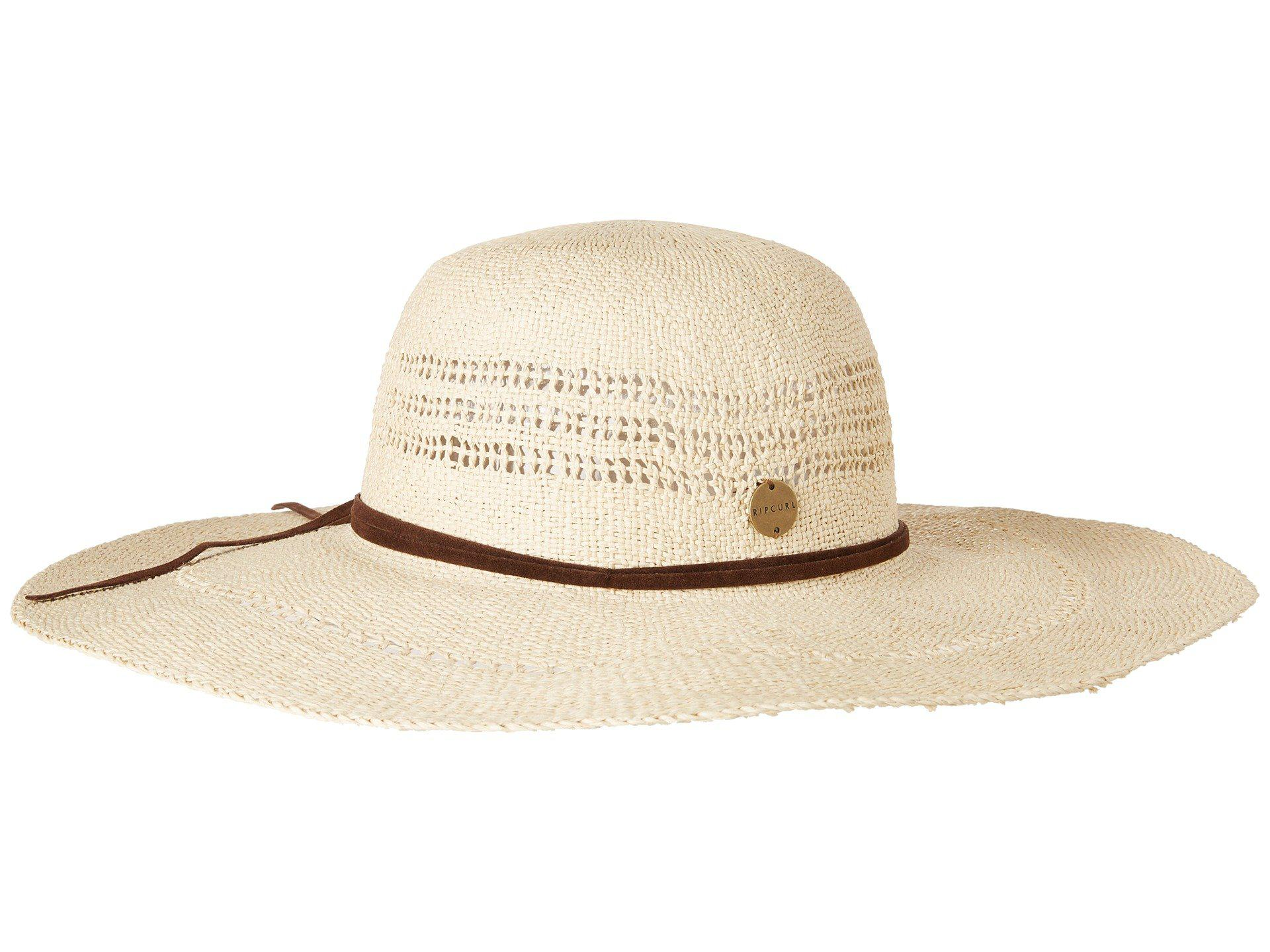 Lyst - Rip Curl Ritual Boho Hat in Natural 83155f997ee