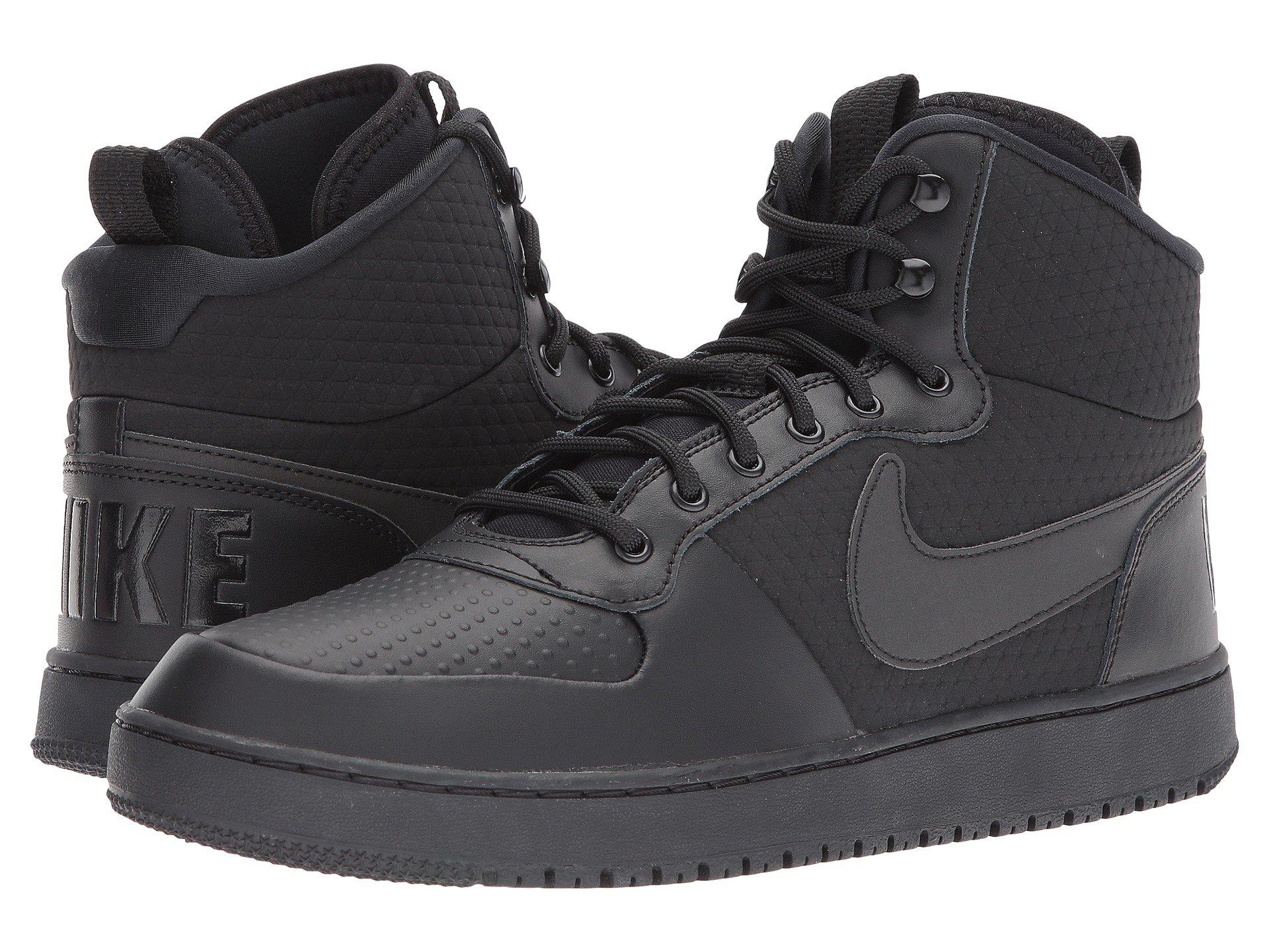 a81feb78fc66 Lyst - Nike Court Borough Mid Winter in Black for Men