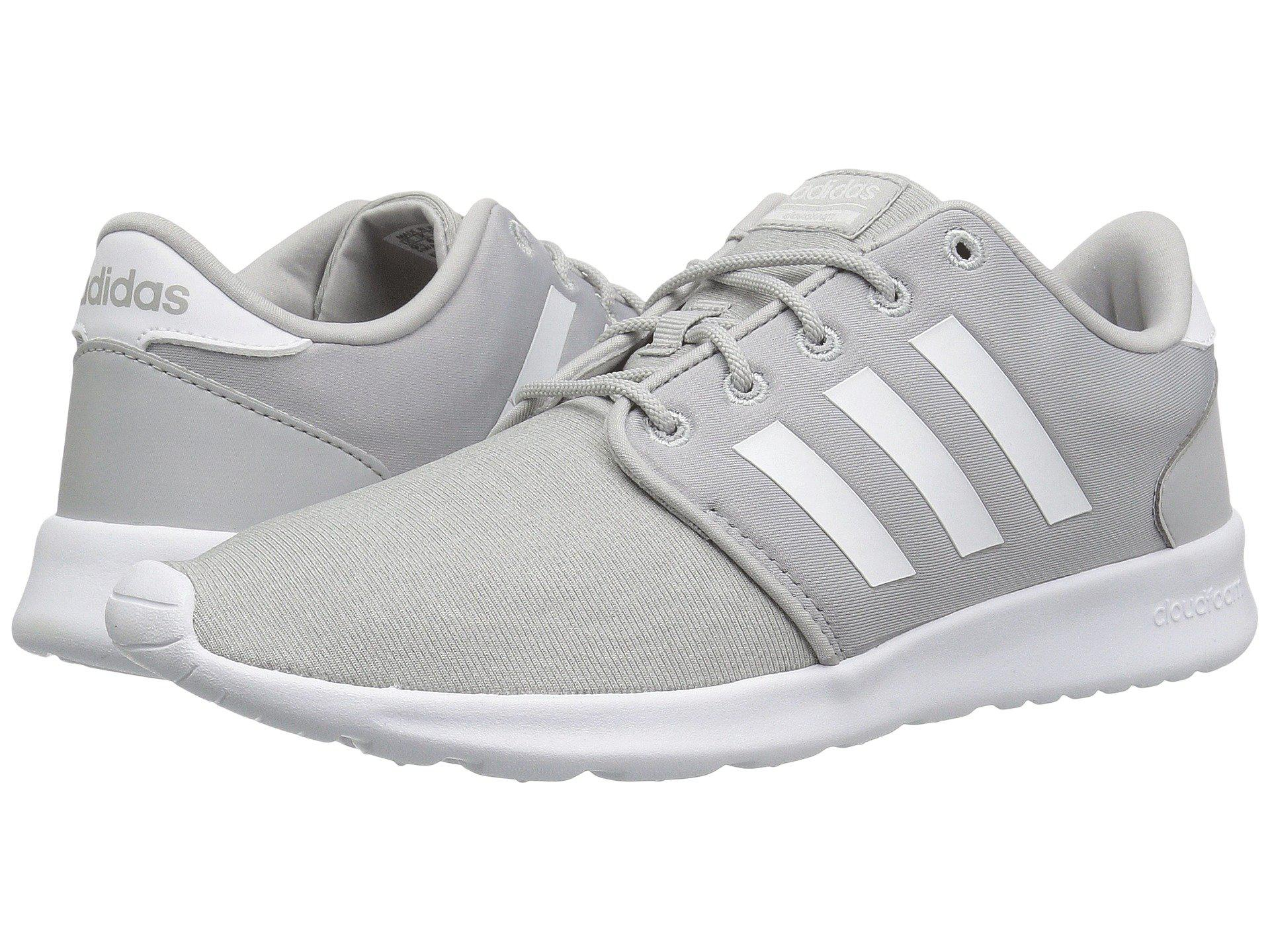 53670a63ad3 Lyst - adidas Cloudfoam Qt Racer Shoes in Gray