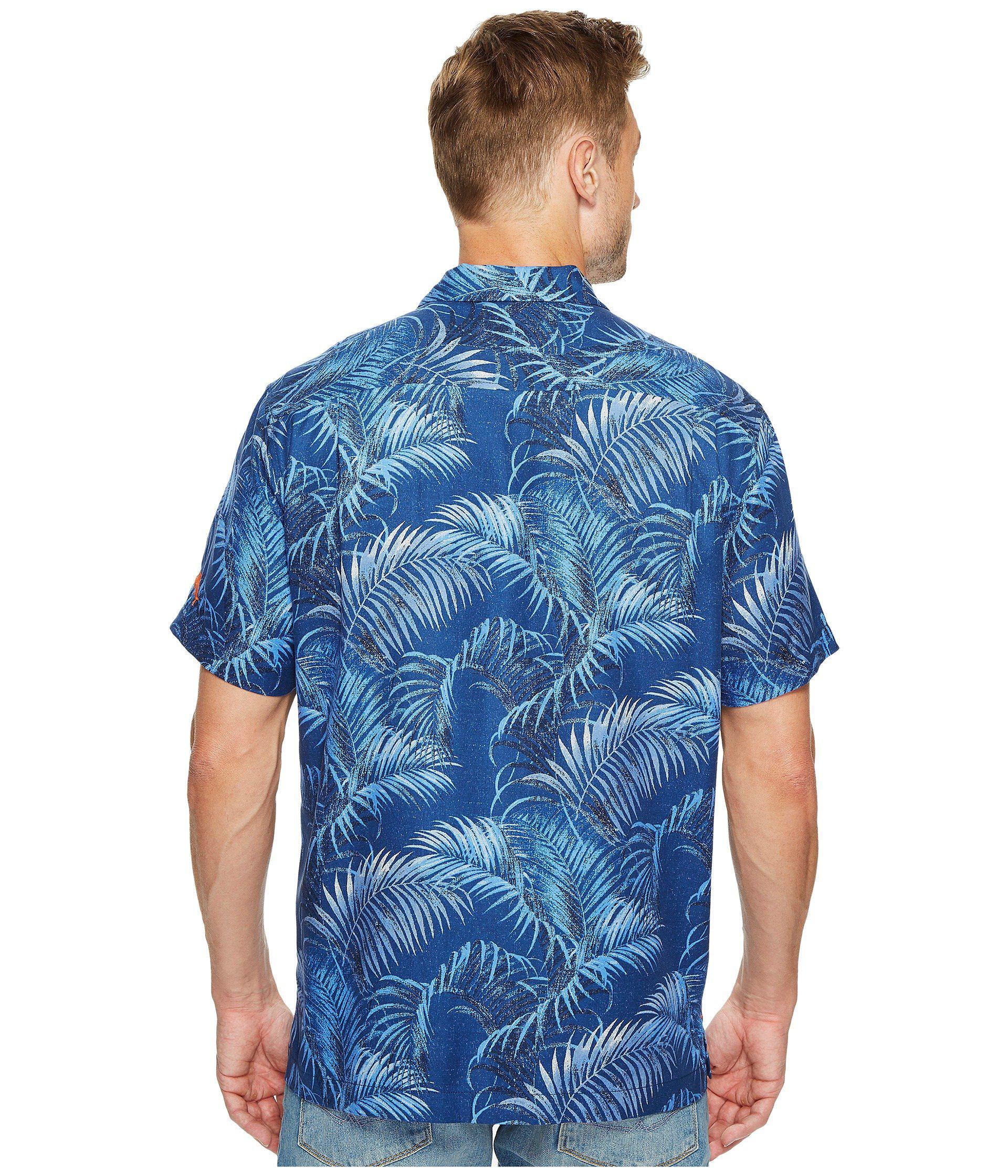 fafc378e6 Tommy Bahama - Blue Denver Broncos Nfl Fez Rounds Shirt for Men - Lyst.  View fullscreen