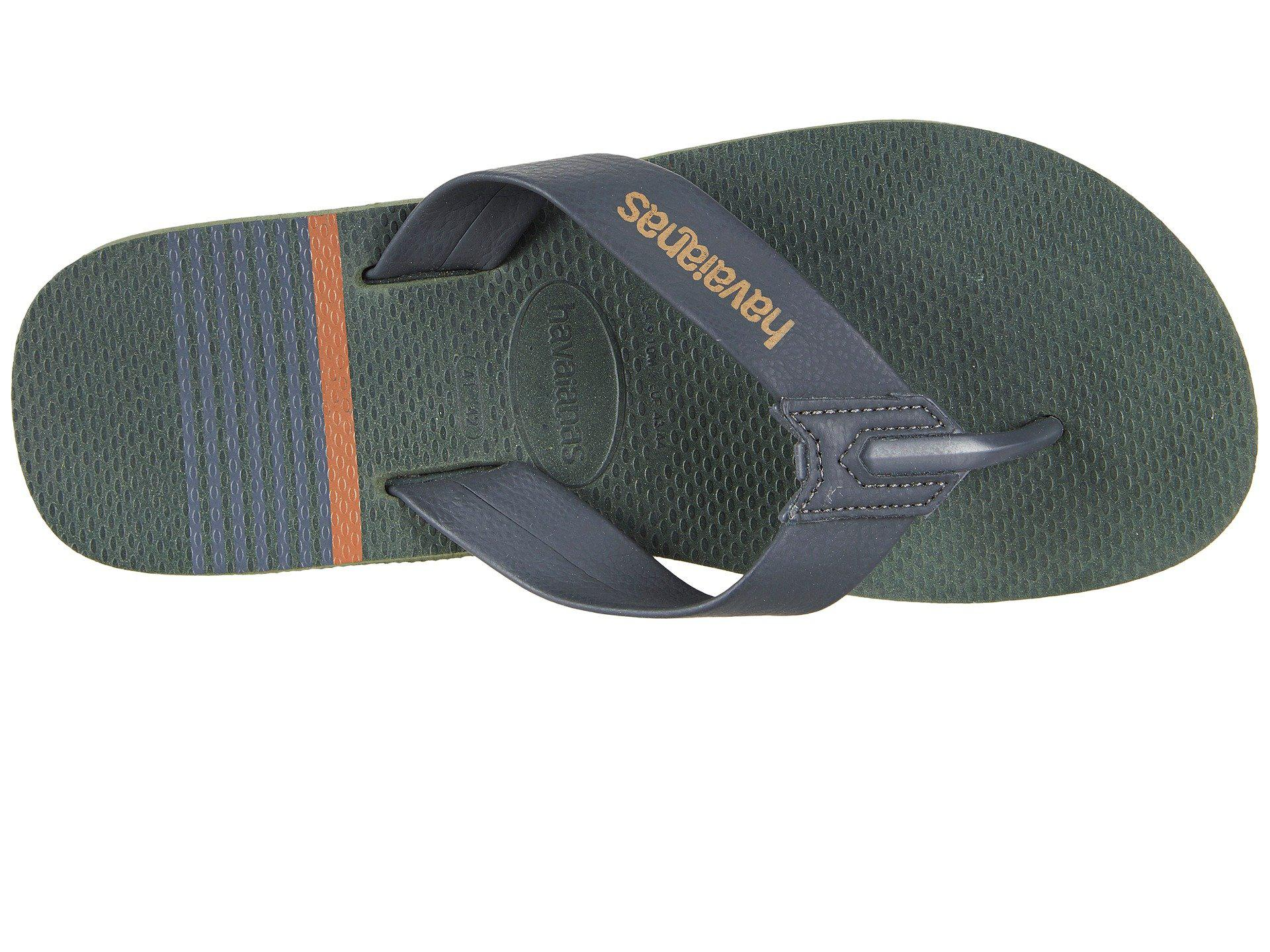 0493f2ac5 Havaianas - Green Urban Craft Flip Flops for Men - Lyst. View fullscreen