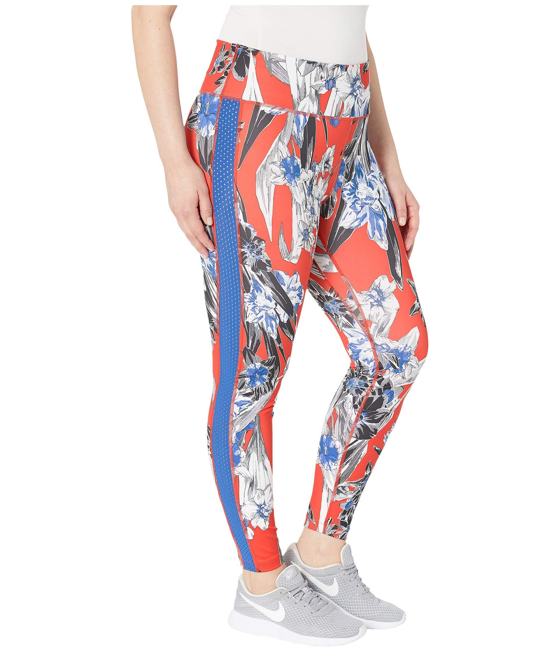 sale retailer 1030a e3db4 Lyst - Nike One Tights Hyper Femme (sizes 1x-3x) in Orange - Save 24%