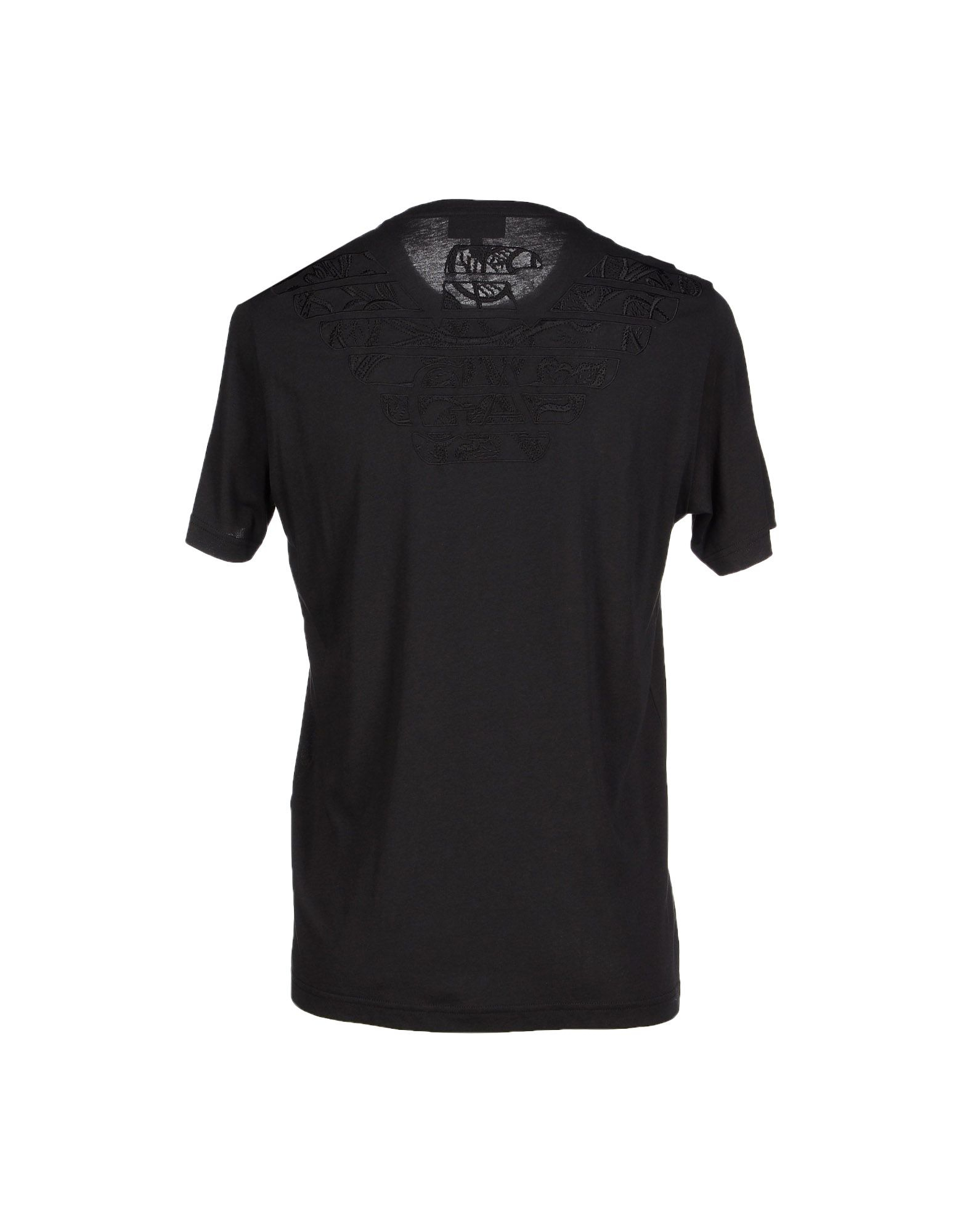 Emporio Armani T Shirt In Black For Men Save 17 Lyst
