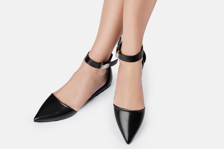 Proenza Schouler Suede Ankle Strap Flats authentic online cheap online cheap explore dNOX8KHwqP
