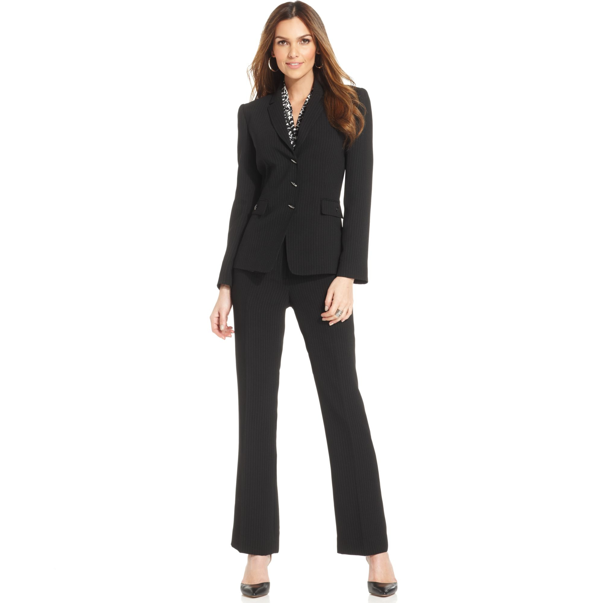 Womens Black Pants Suit ($ - $): 30 of items - Shop Womens Black Pants Suit from ALL your favorite stores & find HUGE SAVINGS up to 80% off Womens Black Pants Suit, including GREAT DEALS like