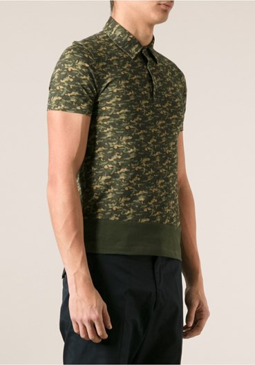 moncler camouflage polo