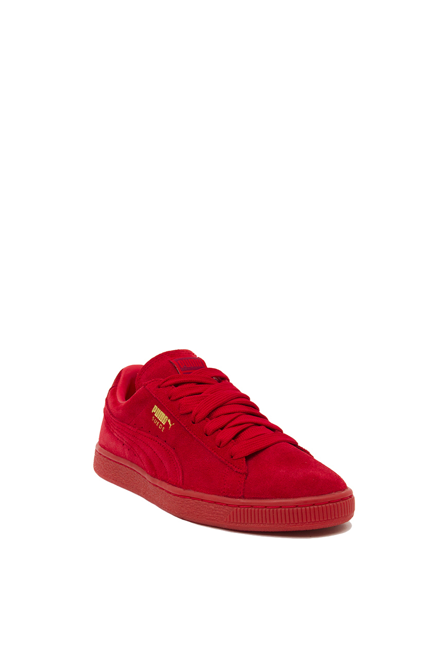 Lyst - PUMA Suede Classic + Mono Iced Sneakers in Red b9287565a