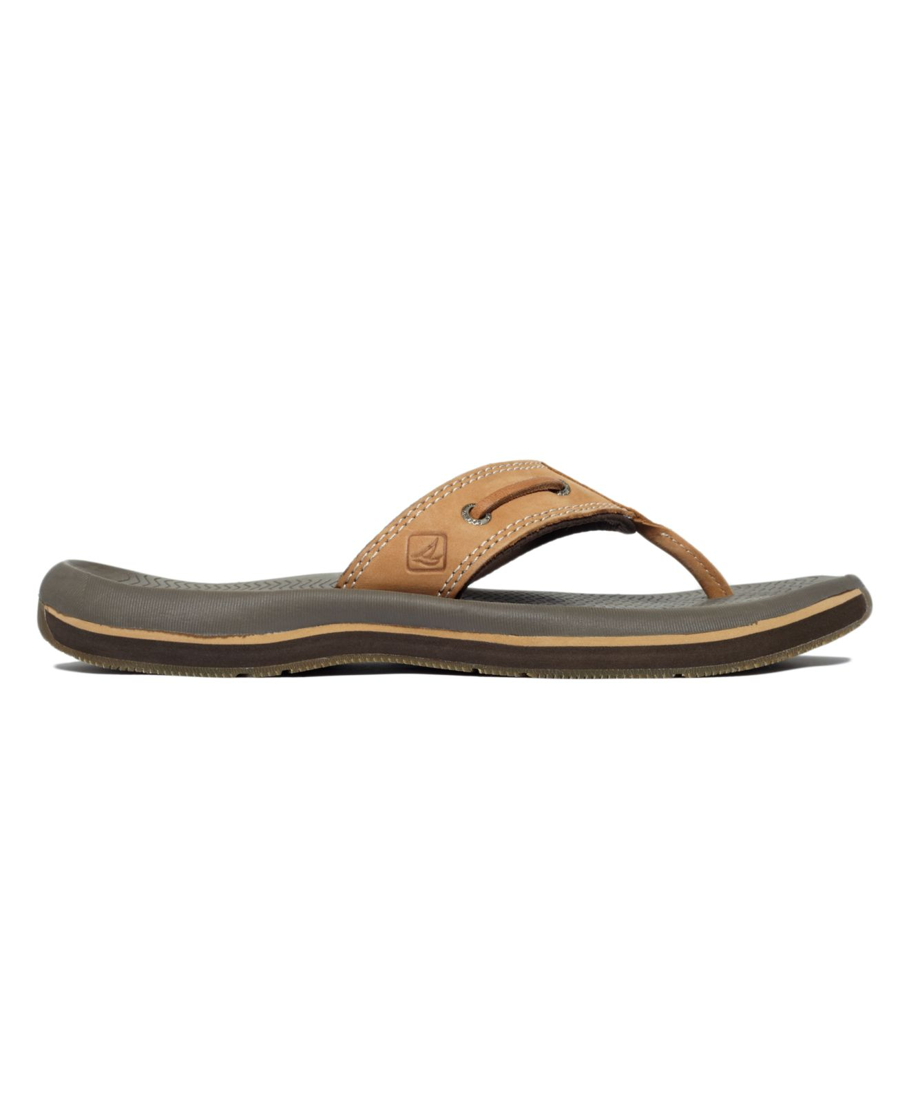 519e122571a5 Lyst - Sperry Top-Sider Men s Santa Cruz Thong Sandals in Brown for Men