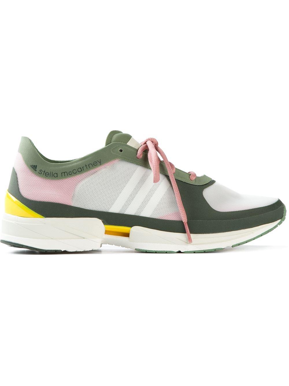 30127b2a9620 Lyst - adidas By Stella McCartney  Diorite Adizero  Trainers in Green