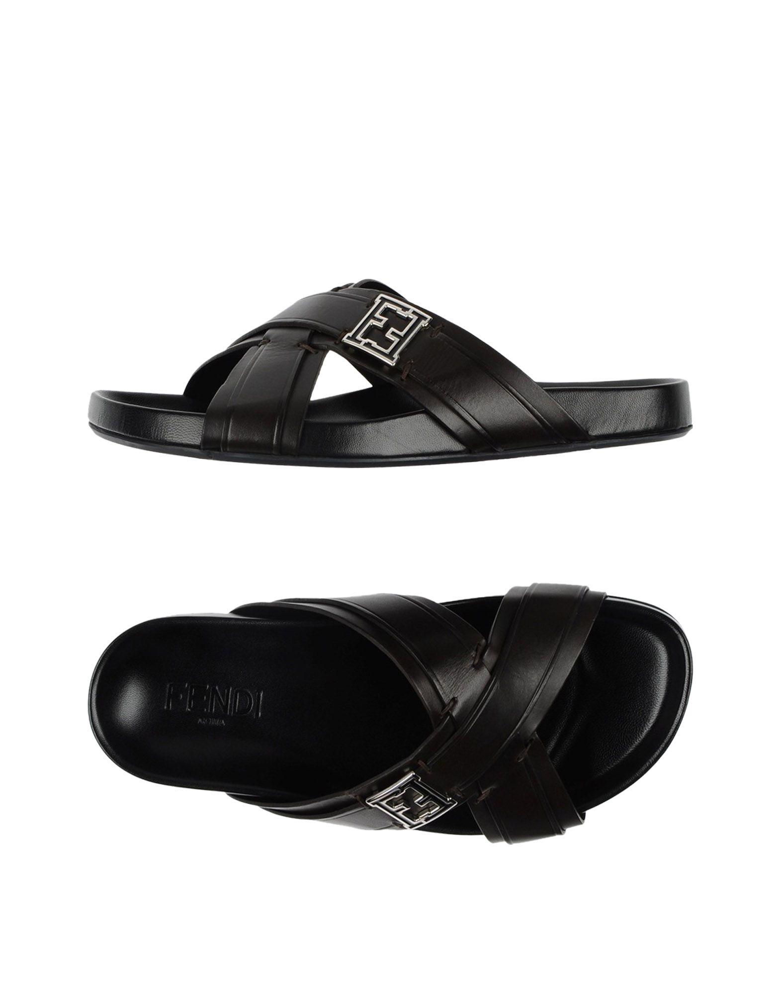 a266ac3fb70791 Lyst - Fendi Sandals in Brown for Men