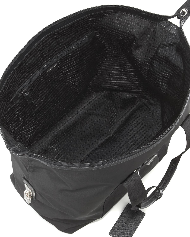 prada dark brown leather handbag - prada vitello striped duffle bag, green prada