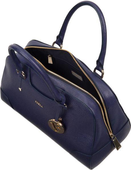 Furla Dolly Satchel in Blue