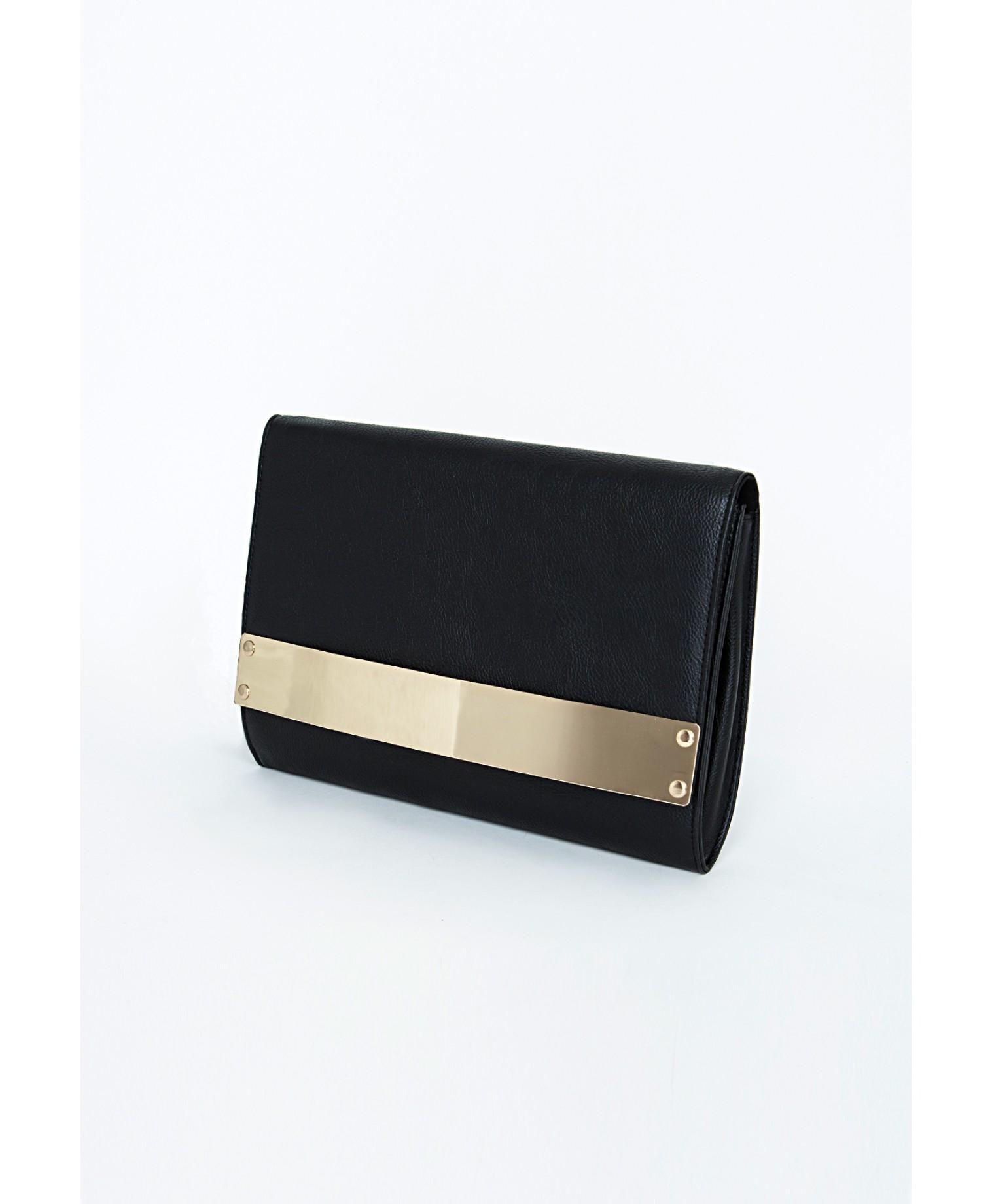 Gallery Women S Black Box Clutch Bags