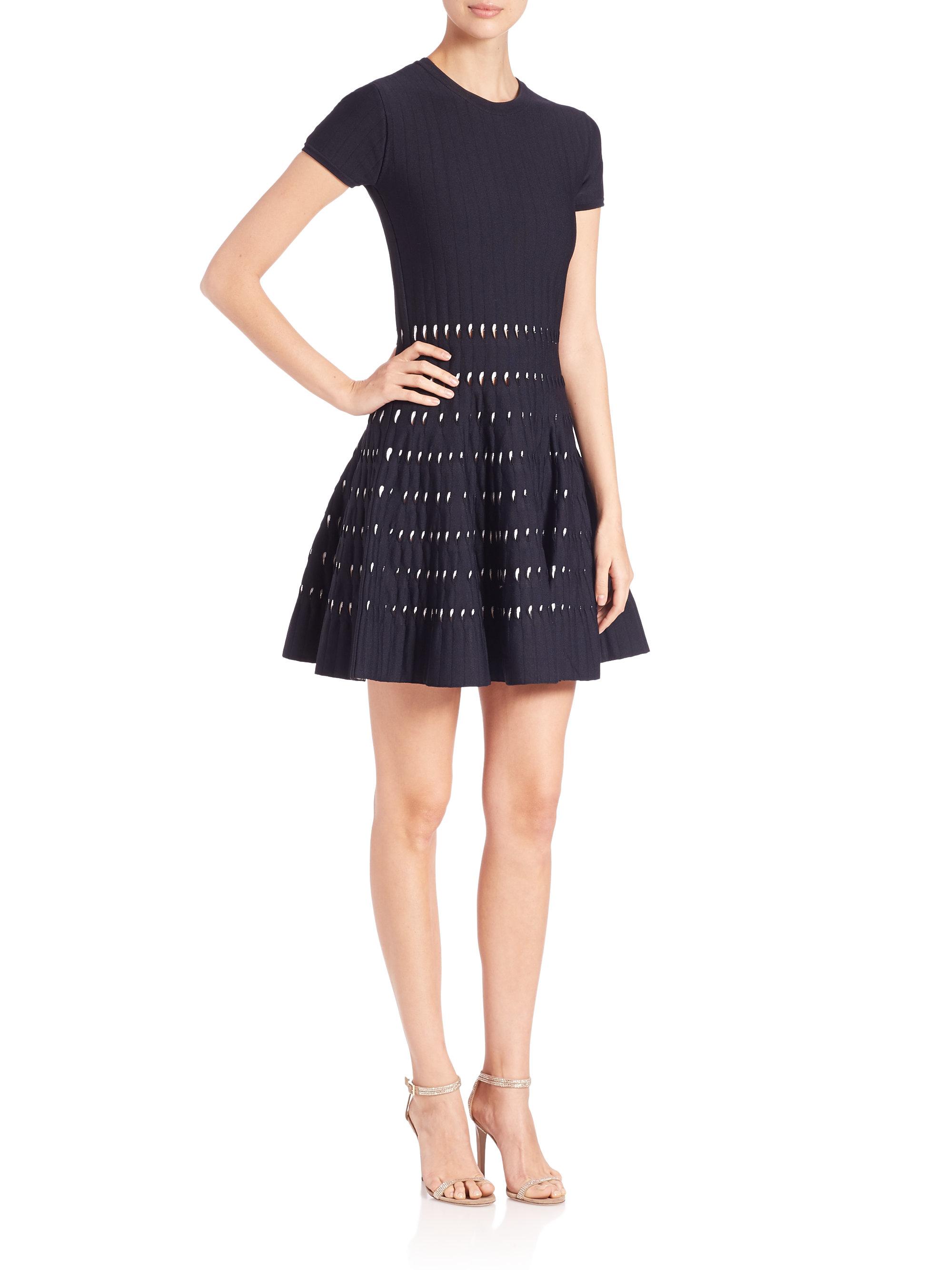 Model Michael Michael Kors Tiewaist Maxi Dress In Blue   Lyst