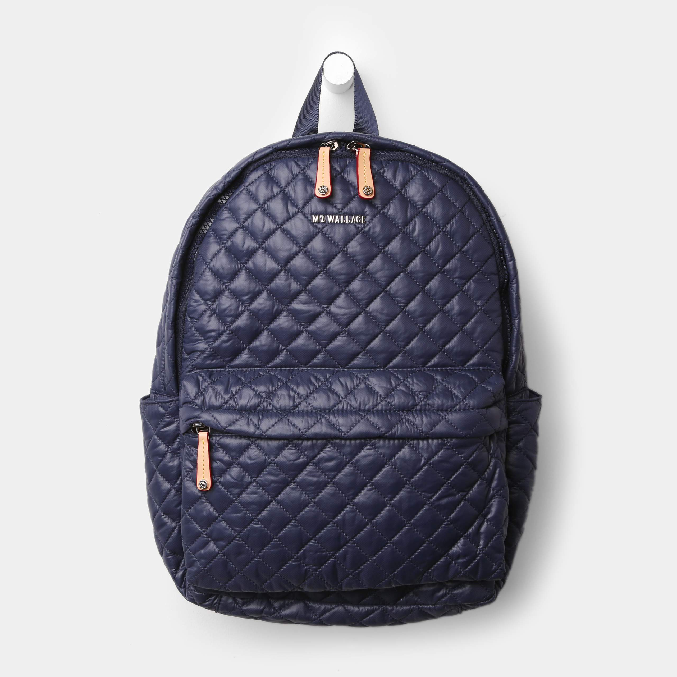 df5032b21b Lyst - MZ Wallace Metro Backpack Navy Oxford in Blue