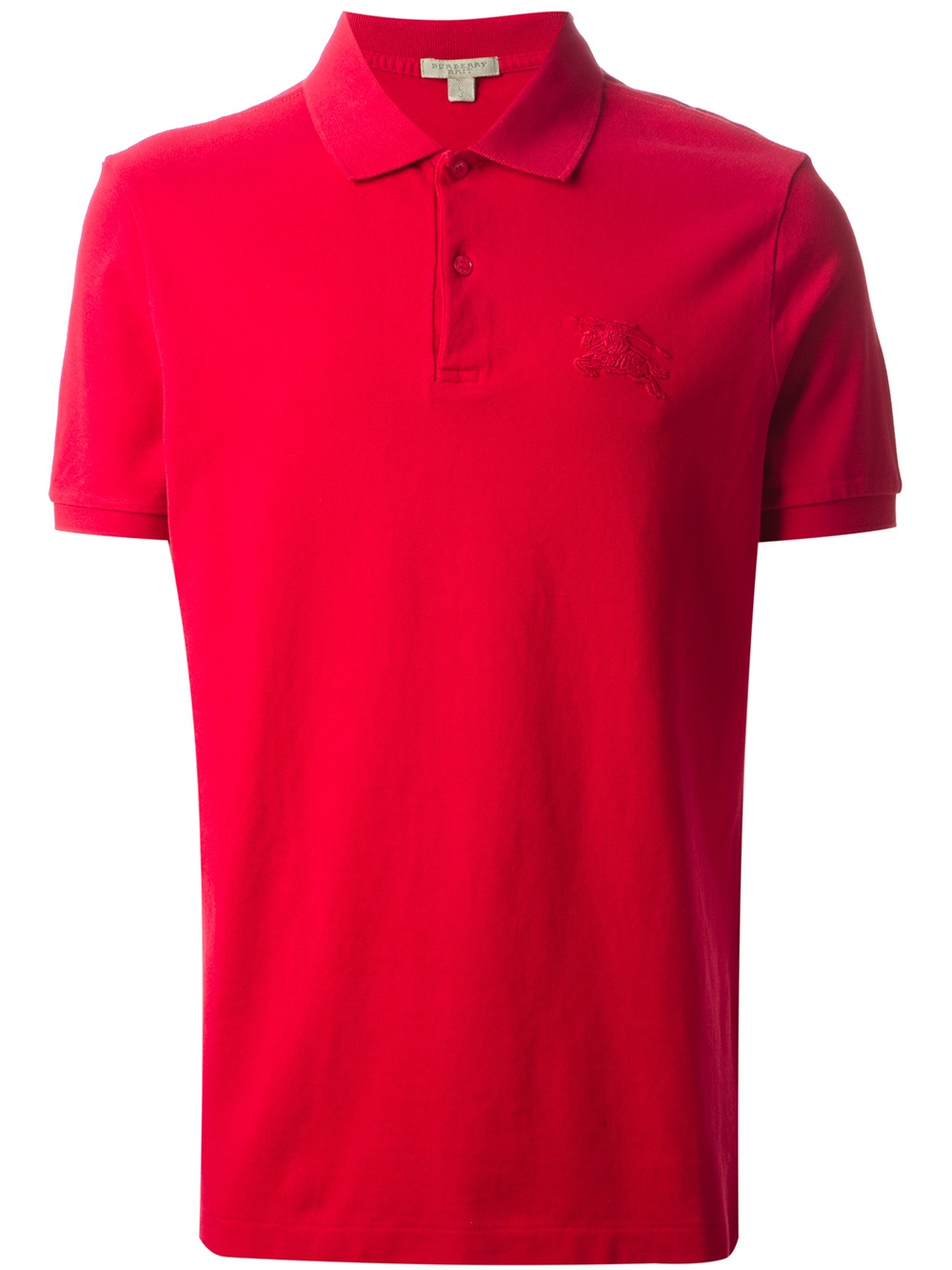 Burberry Brit Short Sleeve Polo Shirt In Red For Men Lyst