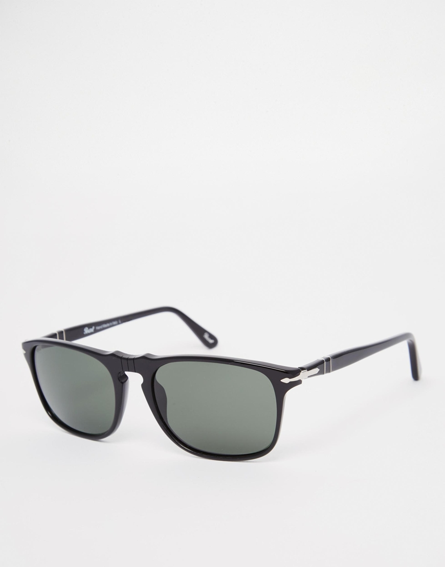 2fff4c93dca Lyst - Persol Wayfarer Sunglasses in Black for Men