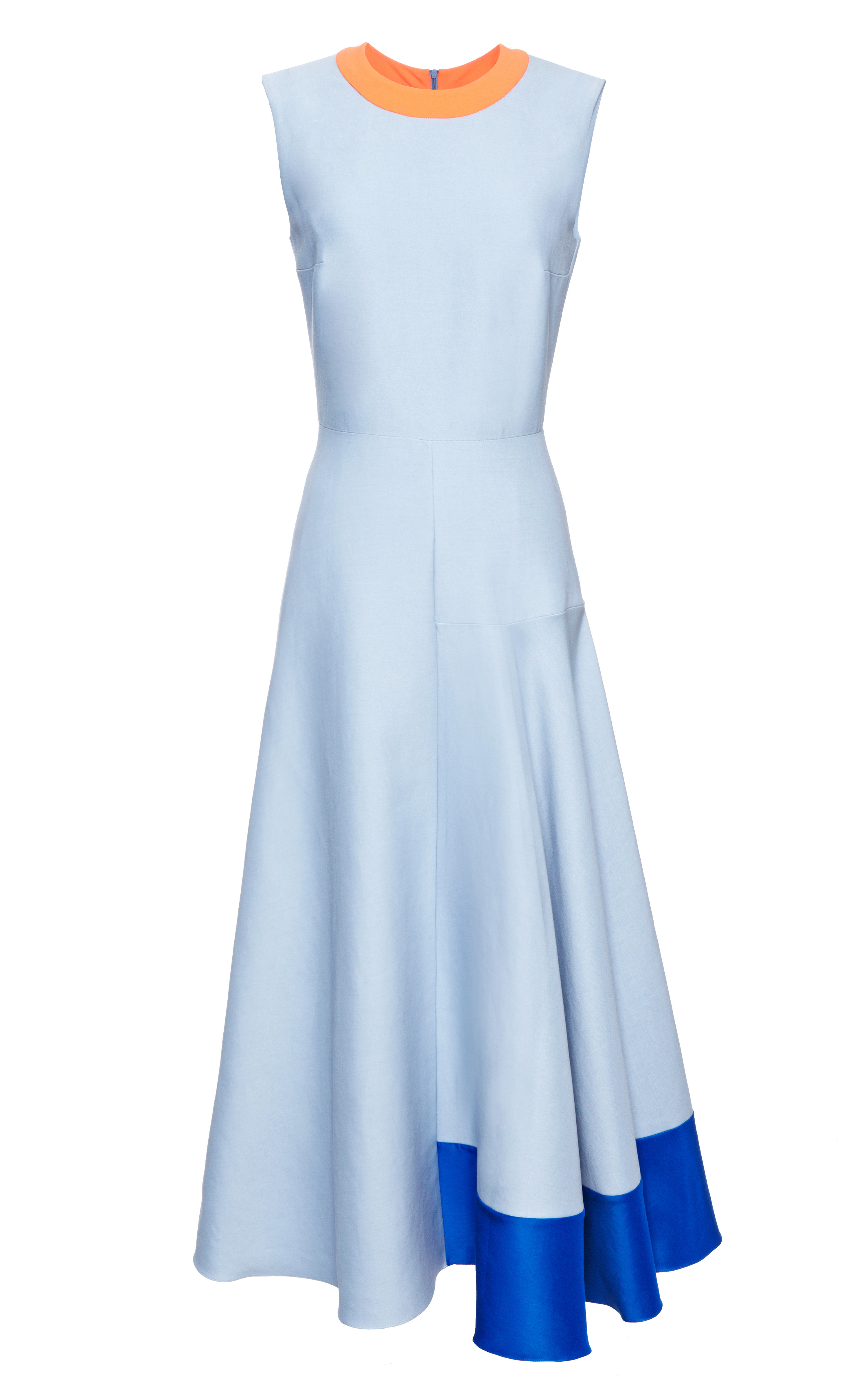 46d18acbb00 Lyst - ROKSANDA Blue Orla Dress in Blue