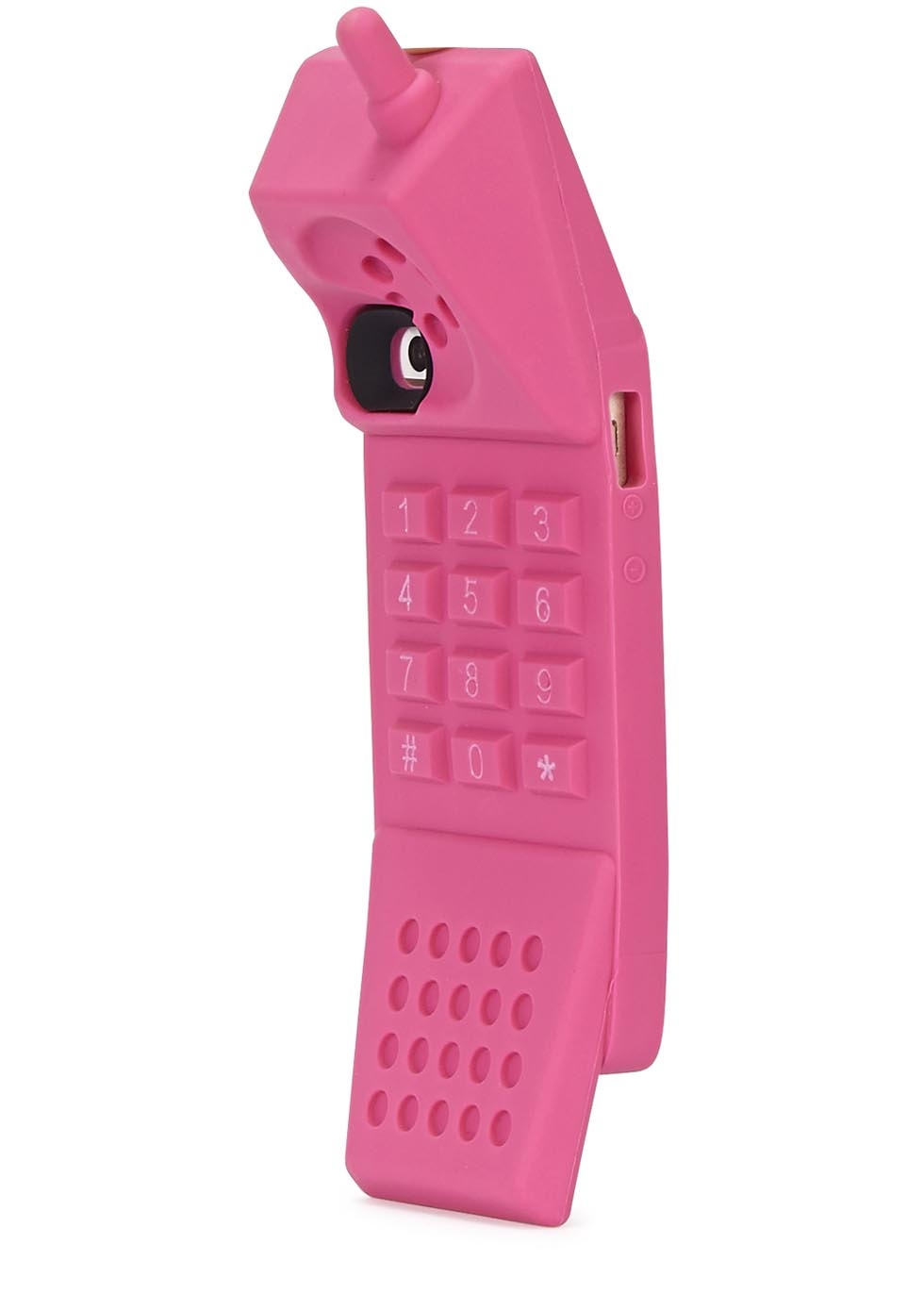 Moschino barbie iphone 5 5s case pink in pink lyst - Telephone barbie ...