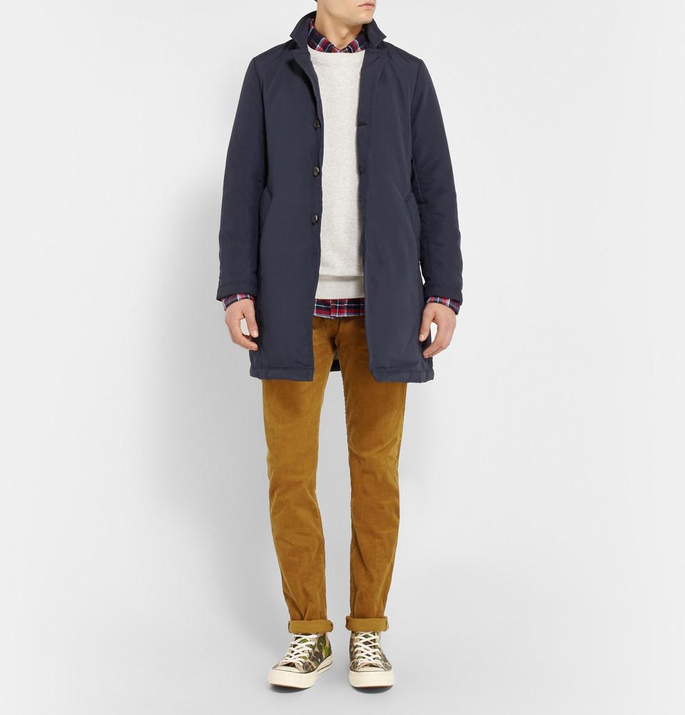 5e0c12adb6c Lyst - Beams Plus Slim-Fit Corduroy Trousers in Brown for Men