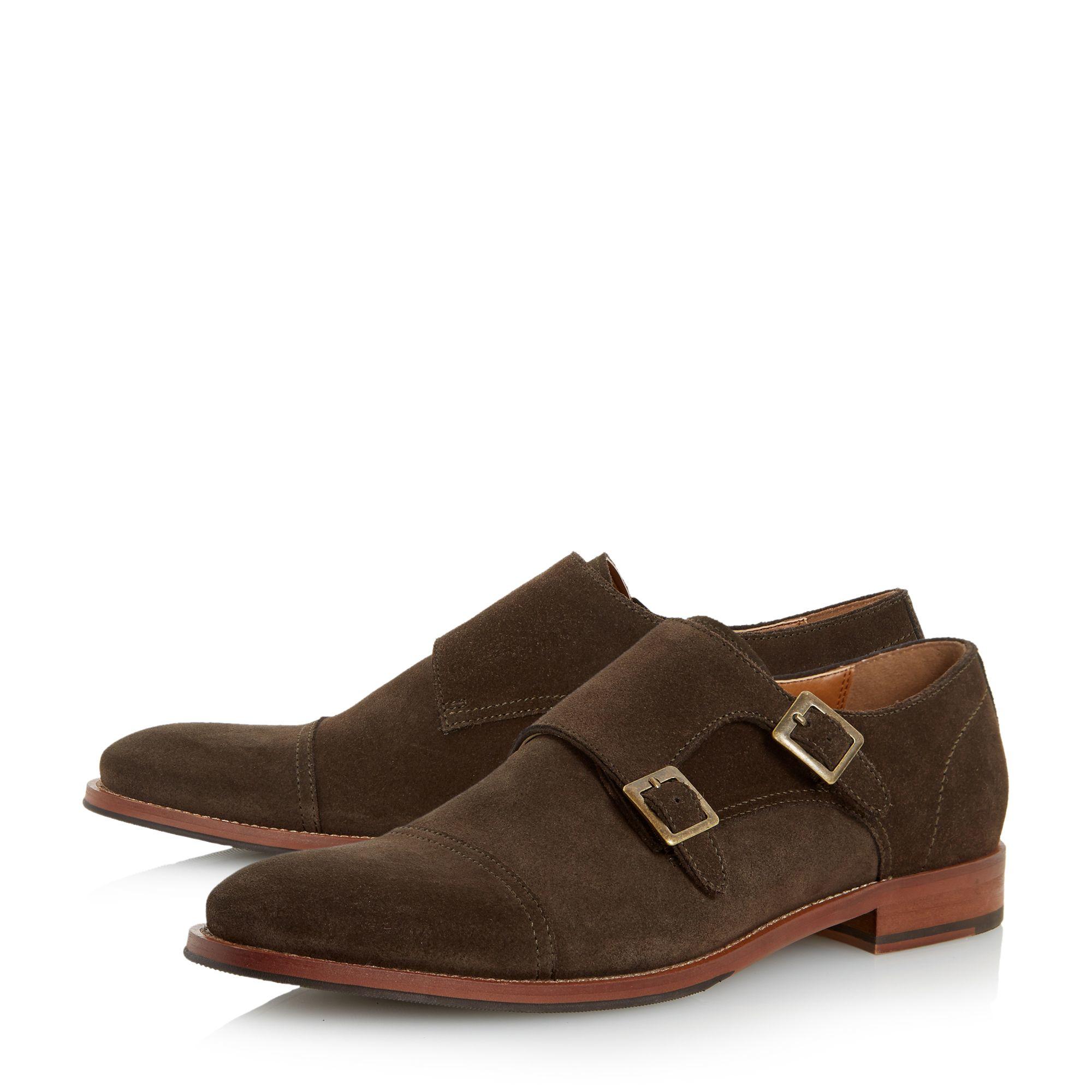 Chaussures Moine Dune En Daim Brun - Brun bm2hnd5iAk