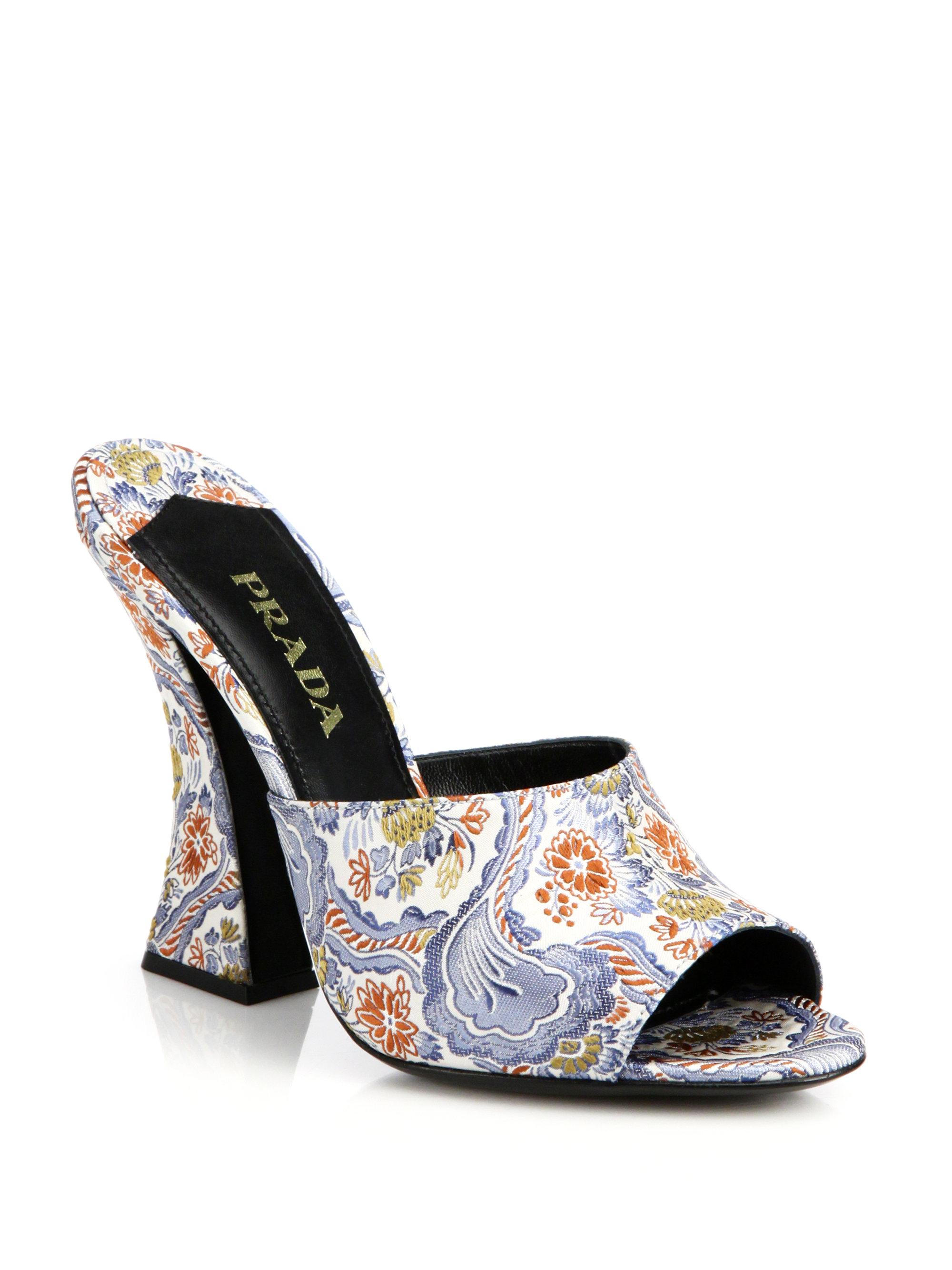 Paisley Shoes Heels