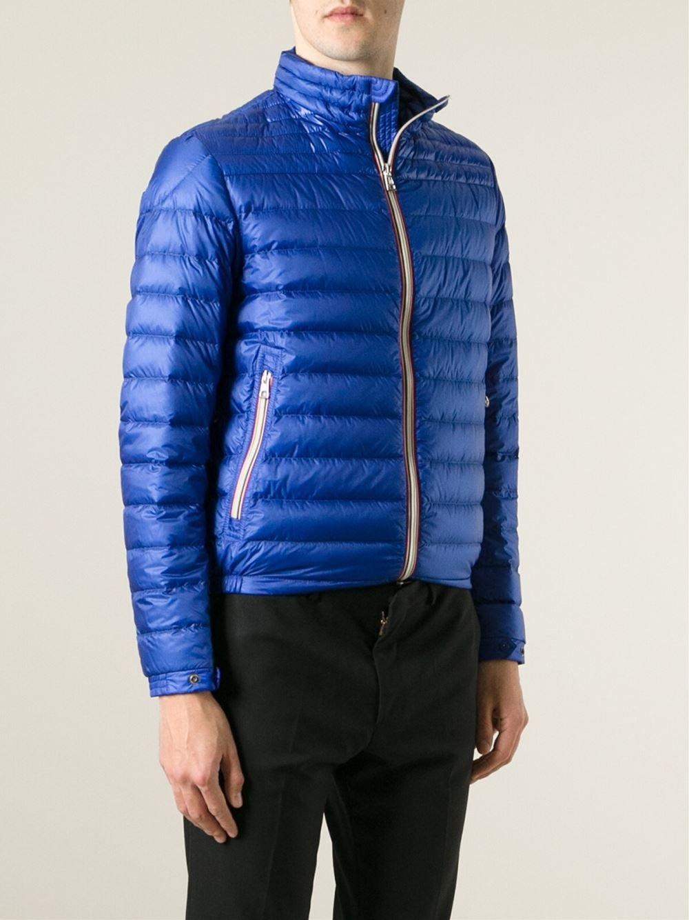 moncler blue men's jacket