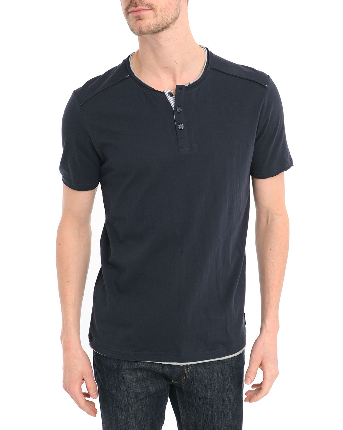 Mens Button Up T Shirts Custom Shirt
