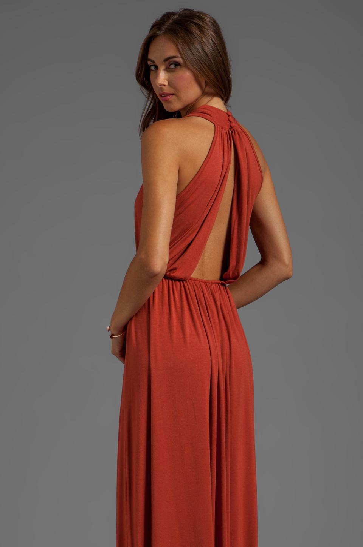 Lyst - Rachel Pally Kasil Dress in Burnt Orange in Orange