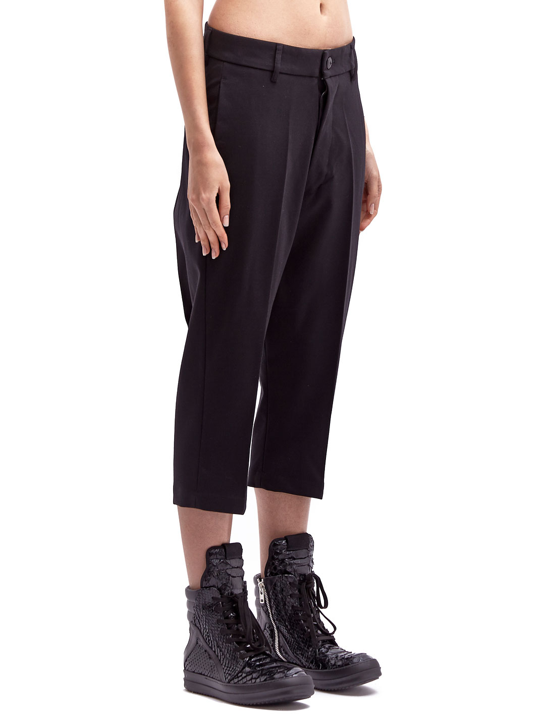 Lyst Rick Owens Womens Easy Astaire Tailored Cropped