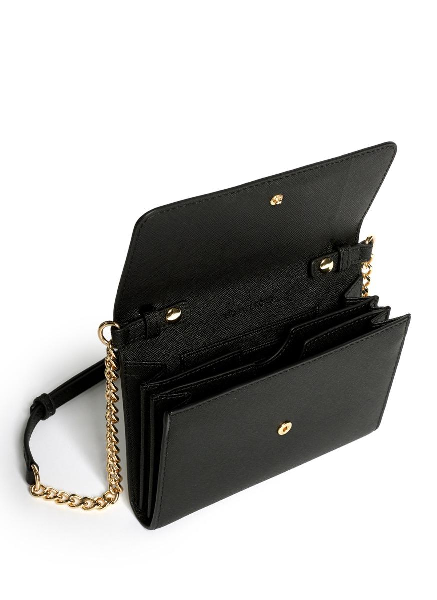e943dc2b5420d Michael Kors Wallet On Chain Black - Best Photo Wallet ...